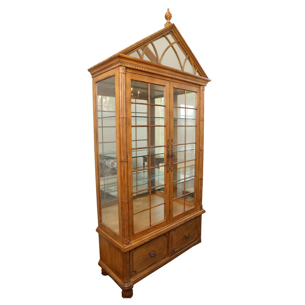Colony Furniture Oak China Cabinet
