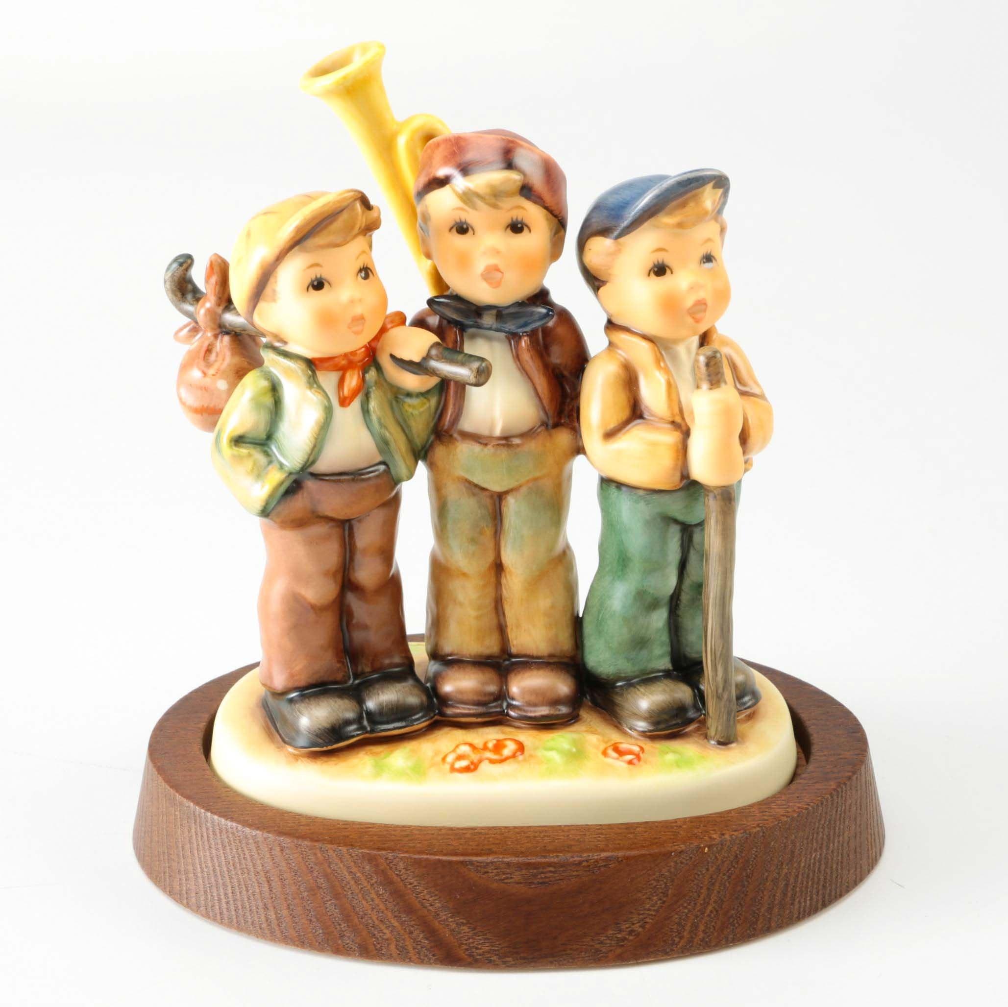 "Hummel Figurine ""Traveling Trio"""
