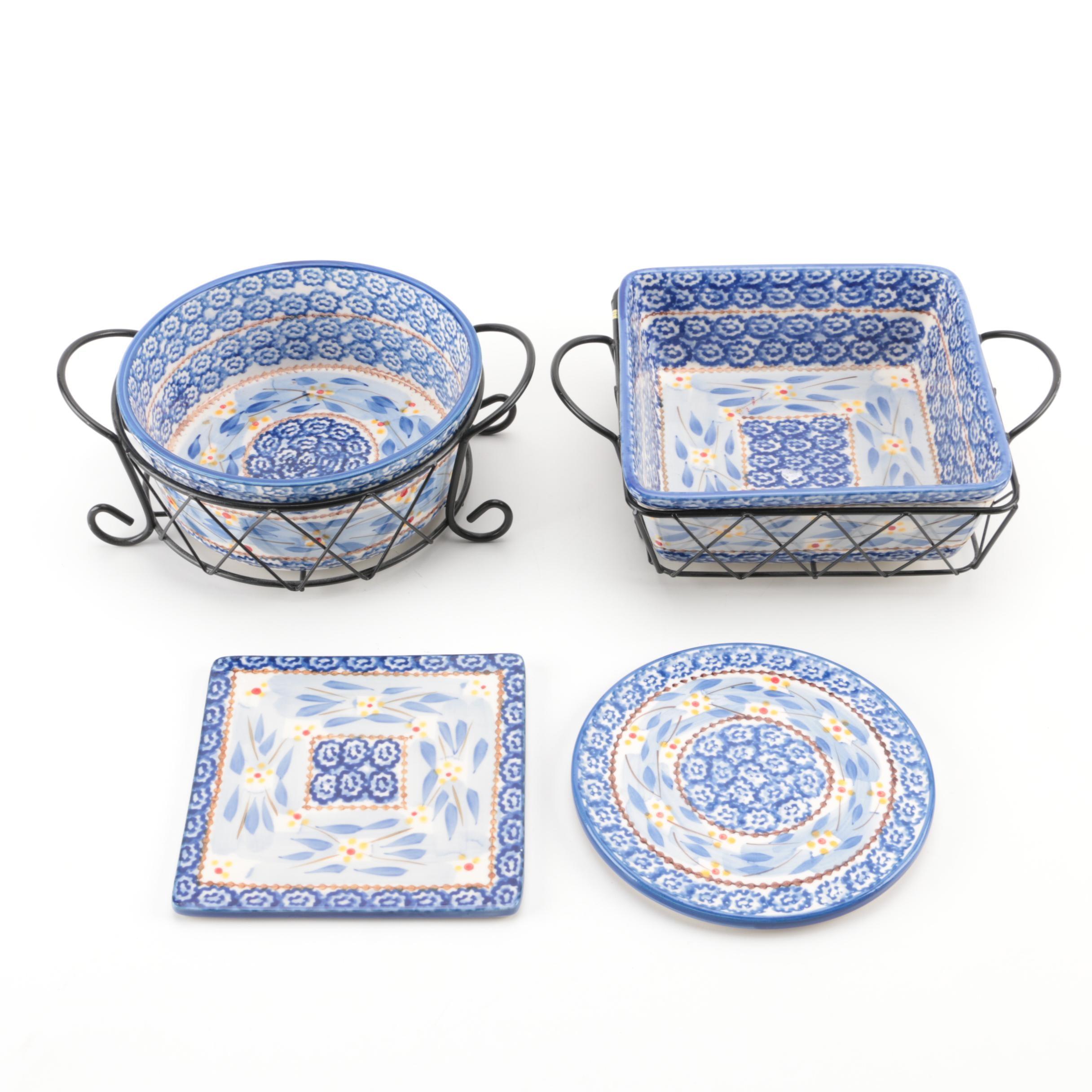 Ceramic Temp-Tations Dinnerware Set