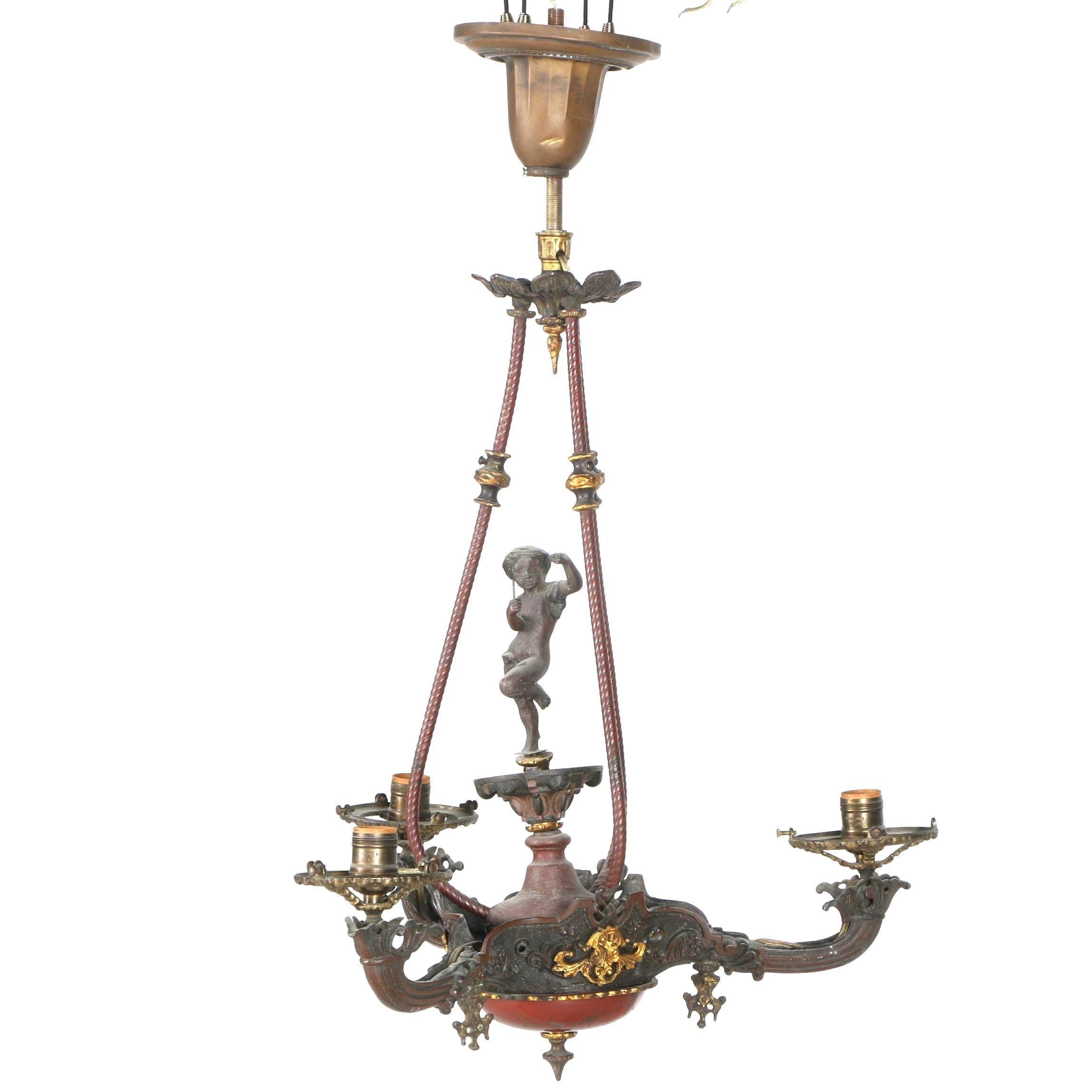 Antique Ornate Victorian Chandelier