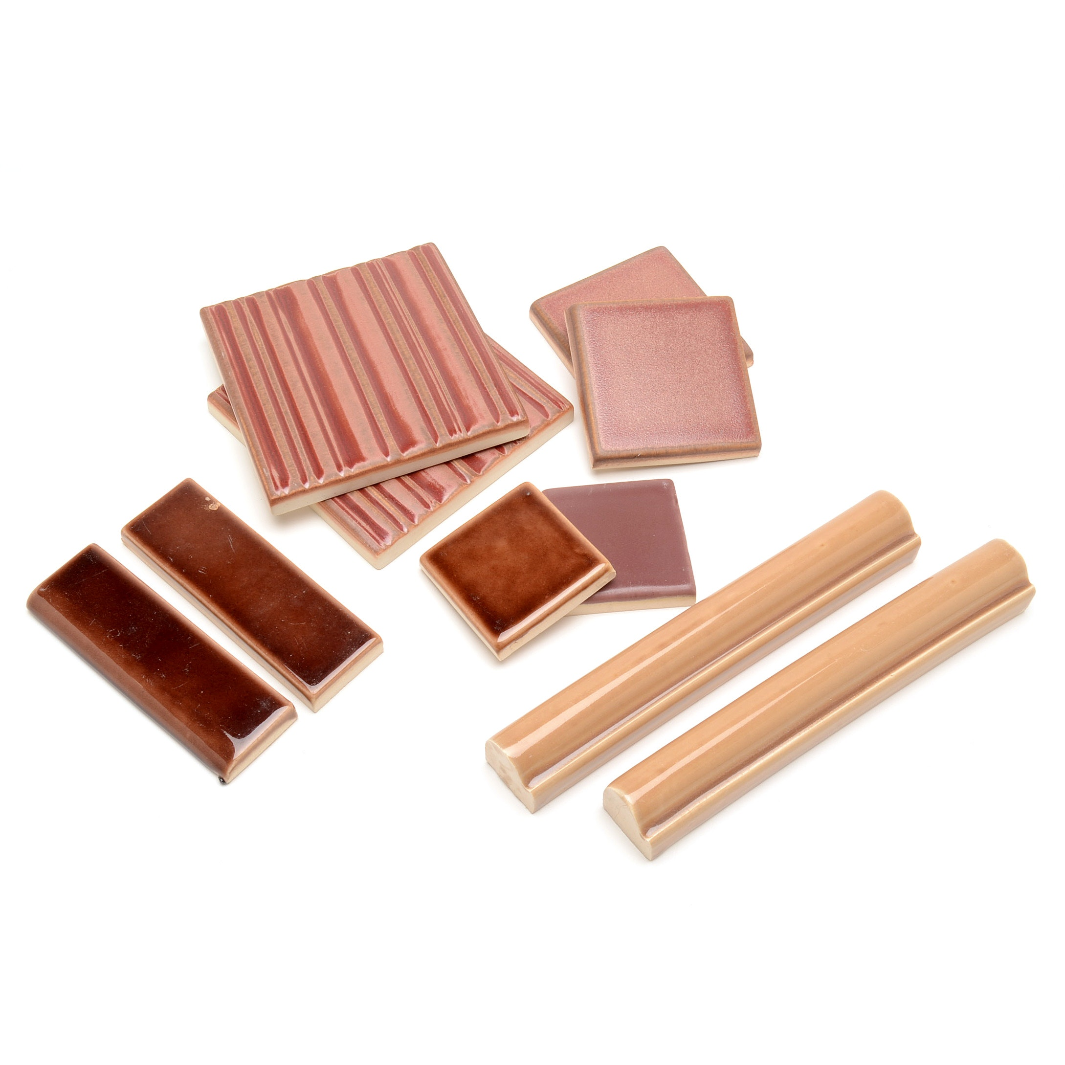 Collection of Rookwood Pottery Architectural Tiles and Moldings