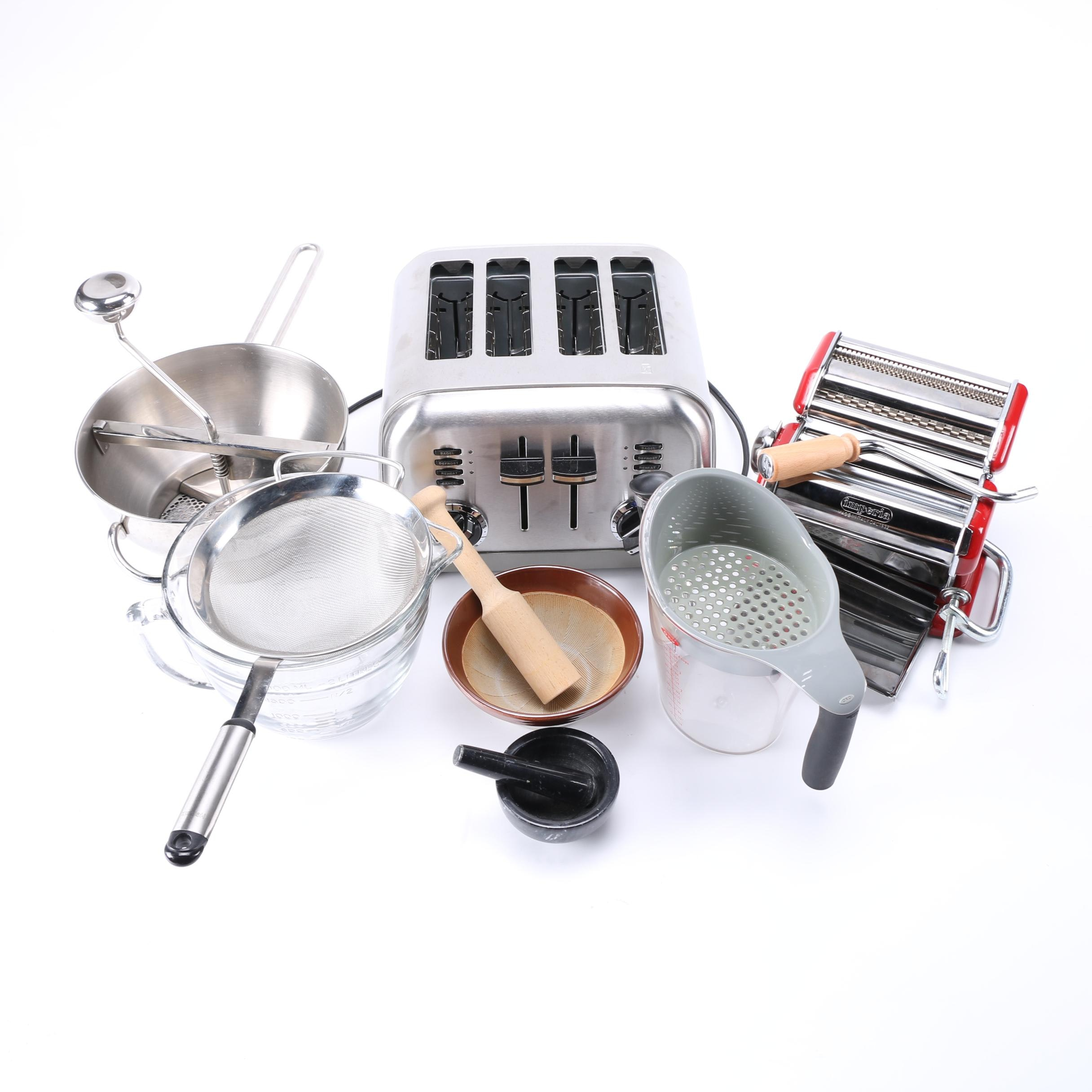 Kitchen Appliances and Cookware Featuring Cuisinart