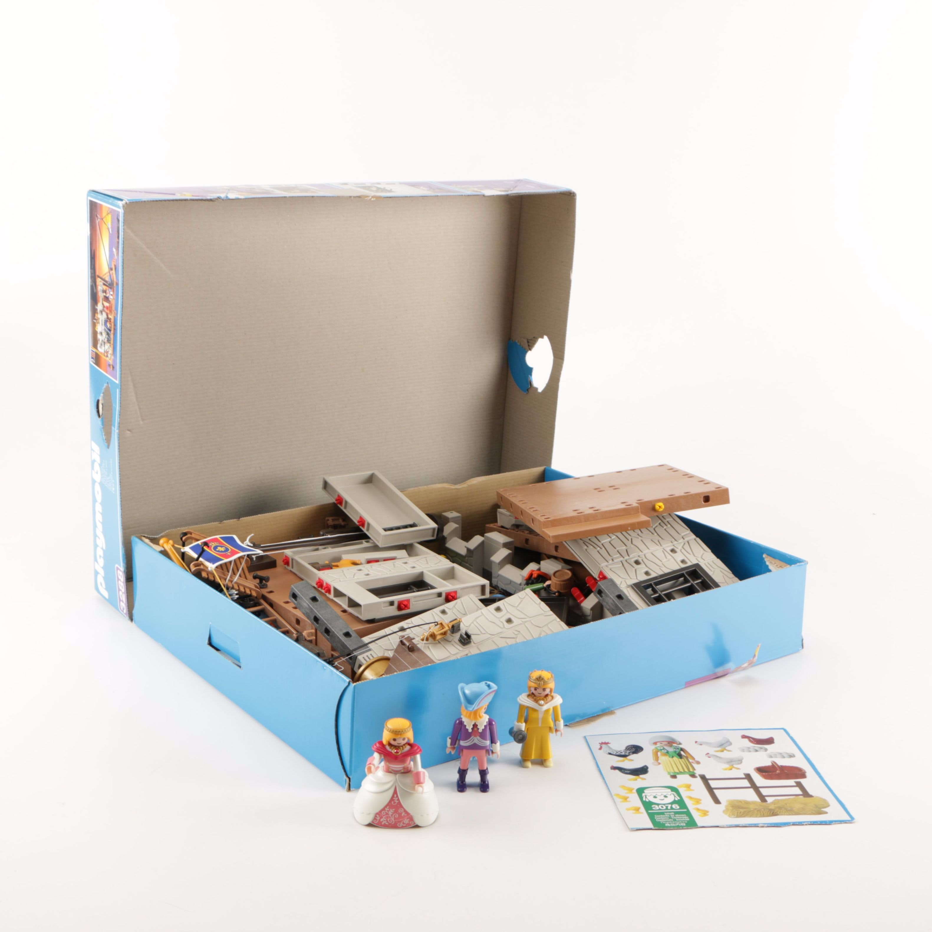 Playmobil Castle Dock Set