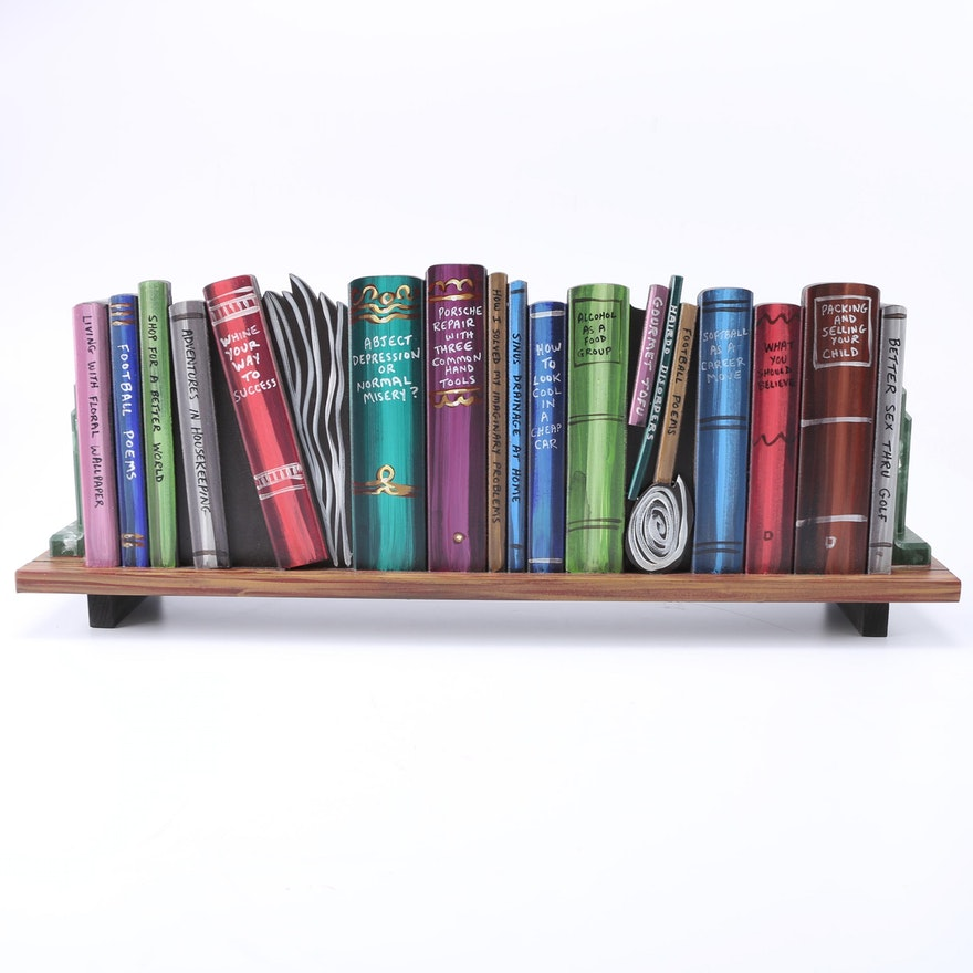 CD Bookshelf Cabinet EBTH