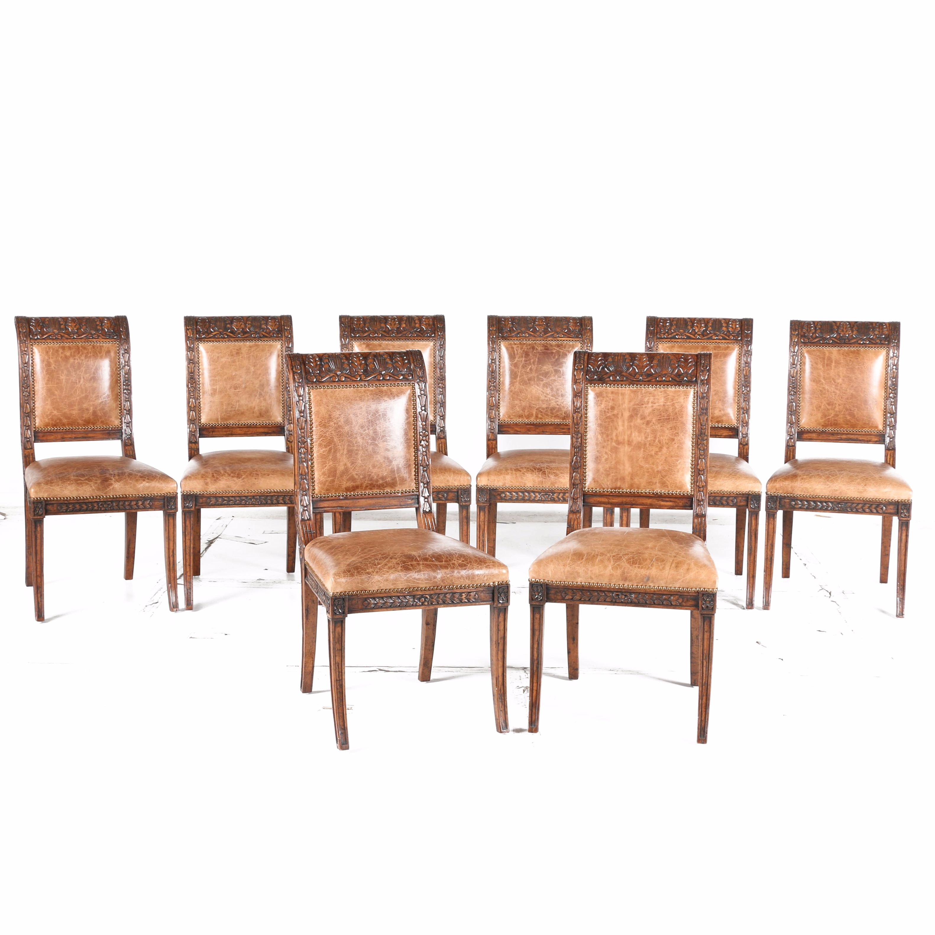 Vintage Neoclassical Inspired Dining Chairs