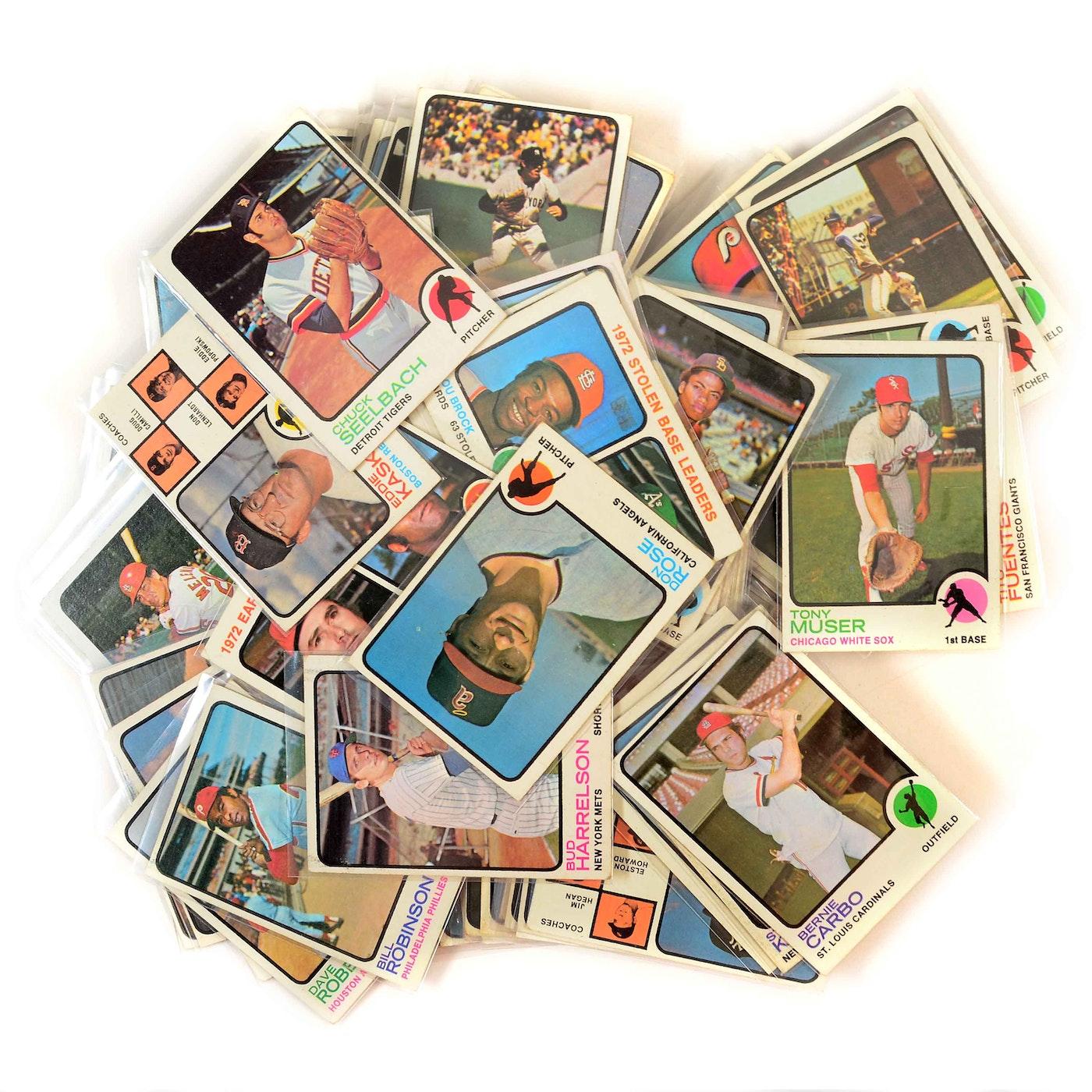 1973 Topps Baseball Cards