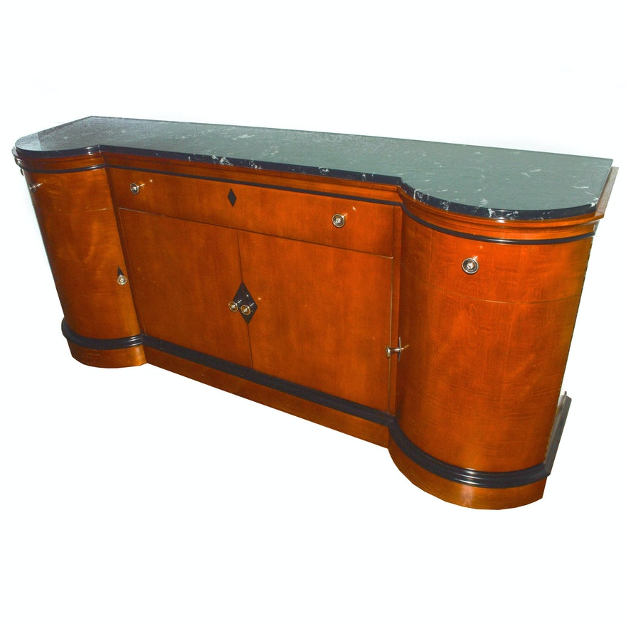 Furniture Corp: National Mt. Airy Furniture Co. Biederman Style Walnut