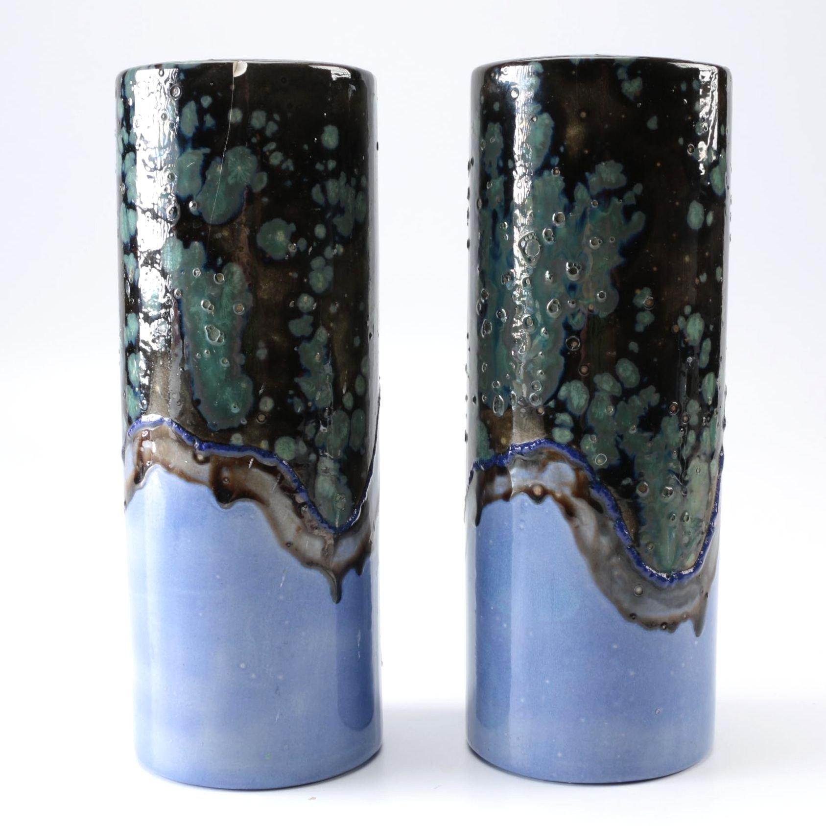 Ceramic Studio Pottery Vases
