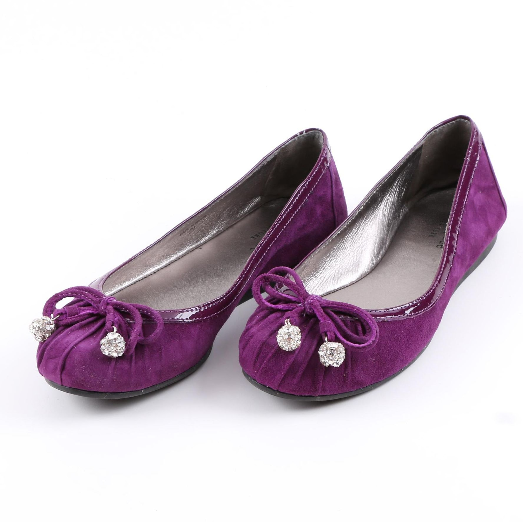 Kate Spade Purple Ballet Flats