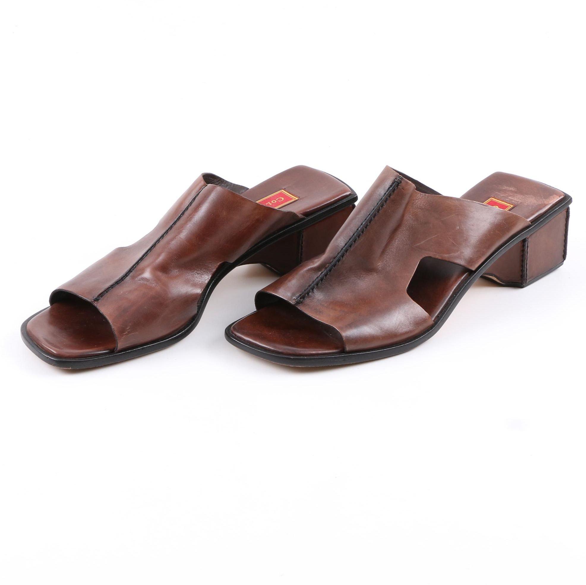 Pair of Cole Haan Studio Heeled Sandals