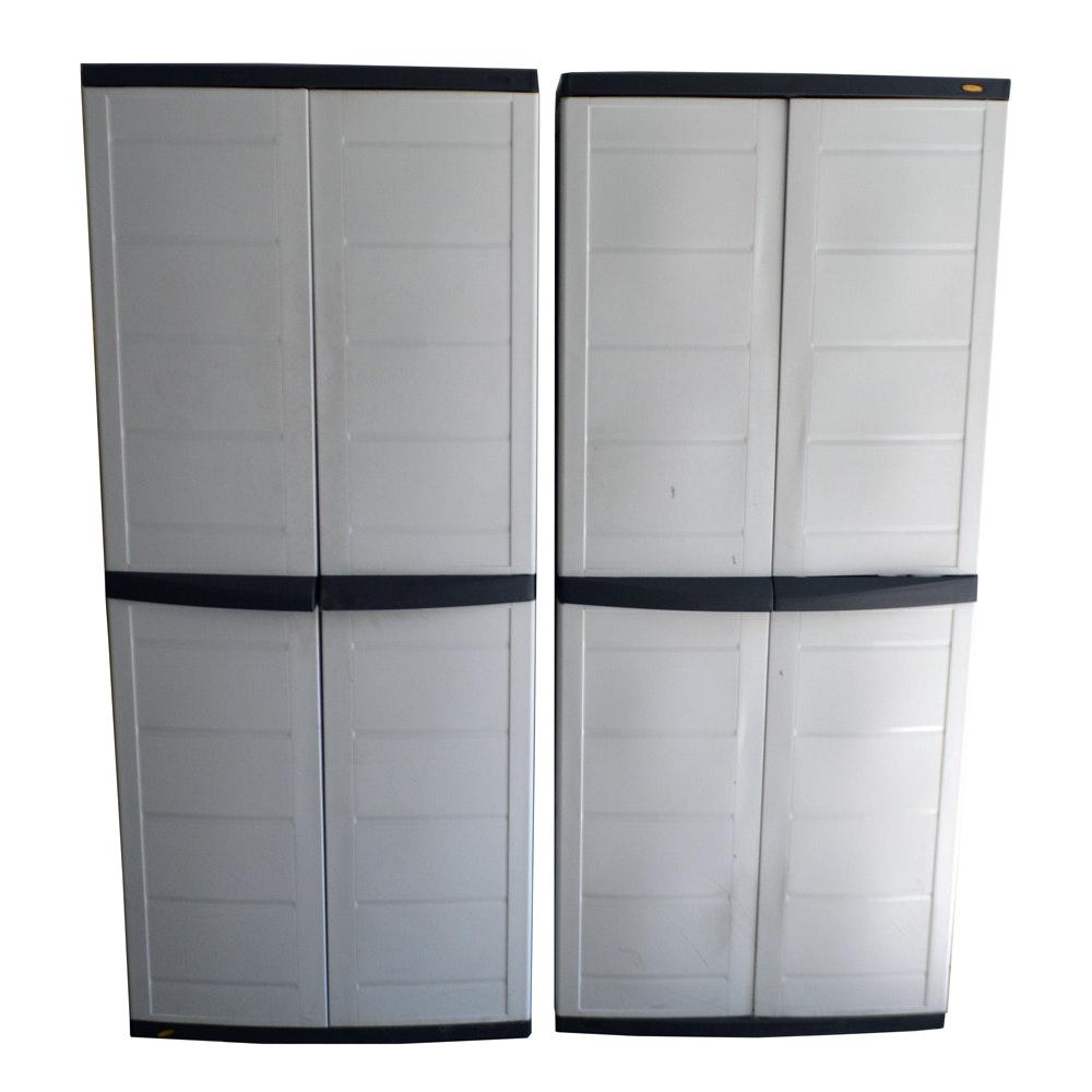 Plastic Storage Cabinets  Ebth. Garage Door Wall Switch. Liftmaster Garage Door Monitor. Shower Doors Of Dallas. Kitchen Cabinets Glass Doors. Overhead Door Installation. Barn Door For Bedroom. Door Rail. Midwest Exercise Pen With Door