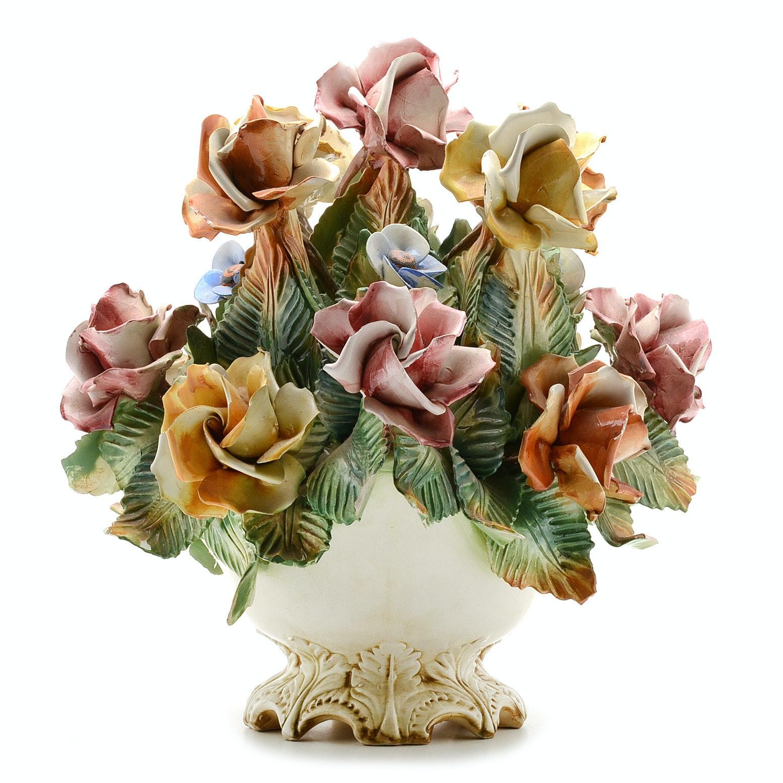 Capodimonte Floral Centerpiece