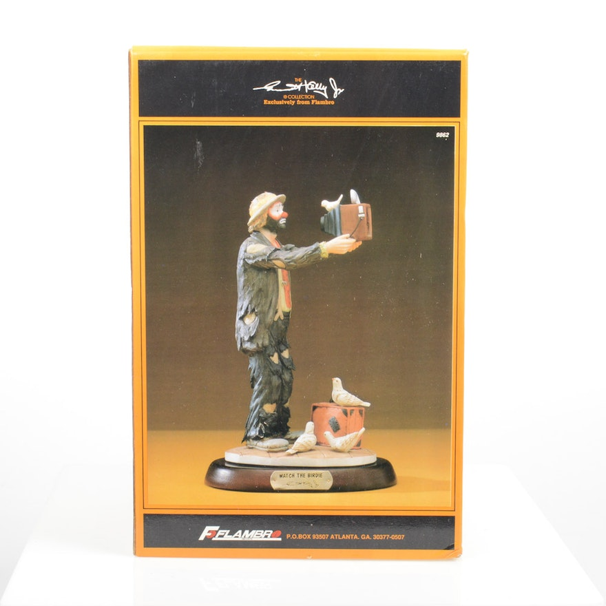 Emmett Kelly Jr. Collectible Clown Figurine ...