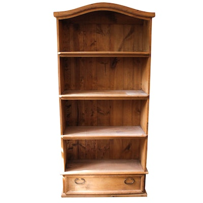 Wooden Book Case With Drawer