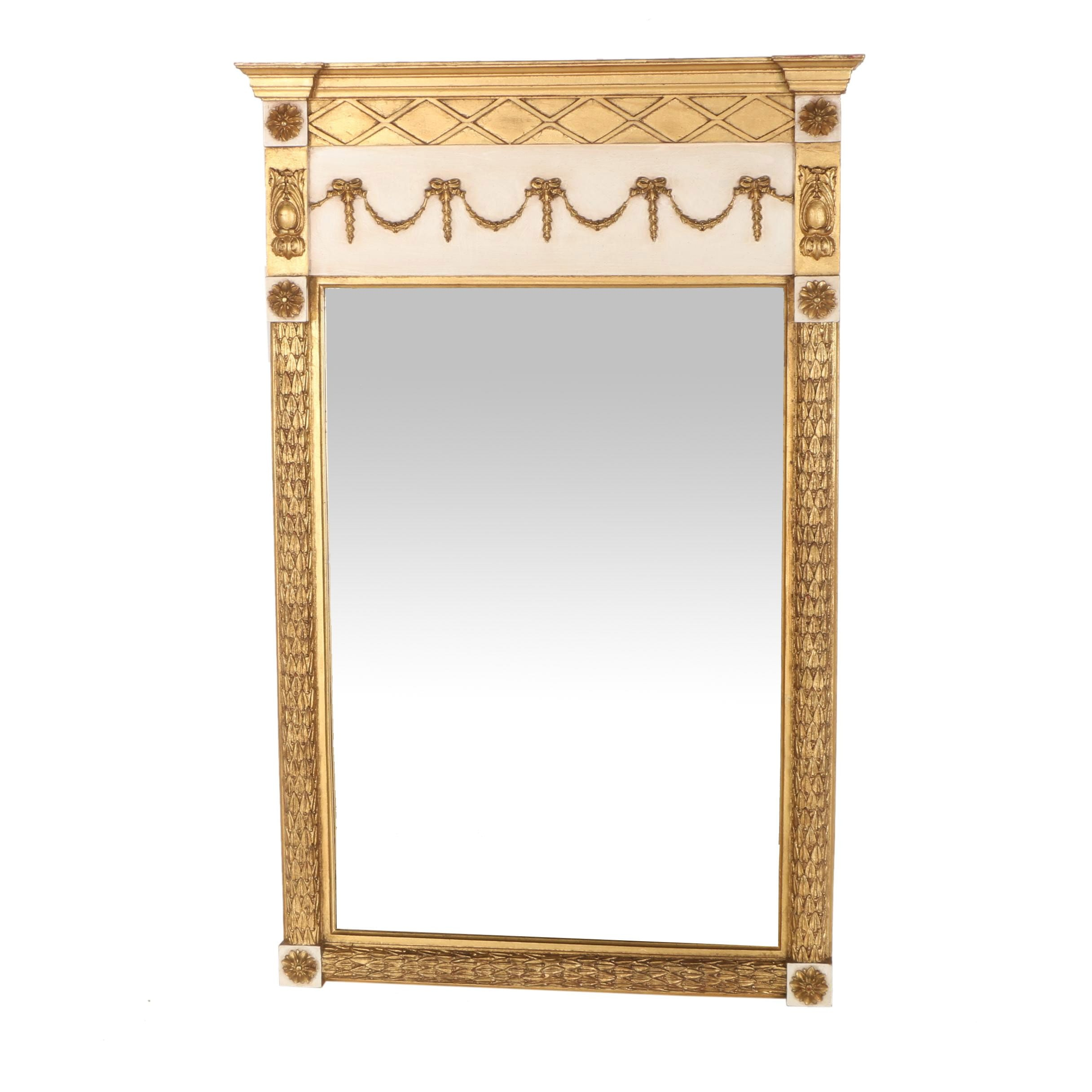 Gilded Wooden Wall Mirror
