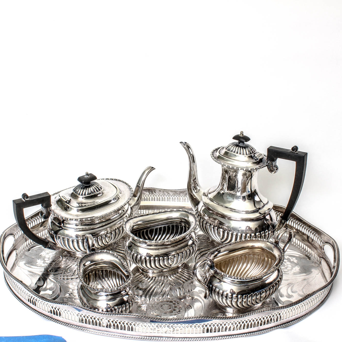 Sheffield Silver Plated Coffee Tea Service