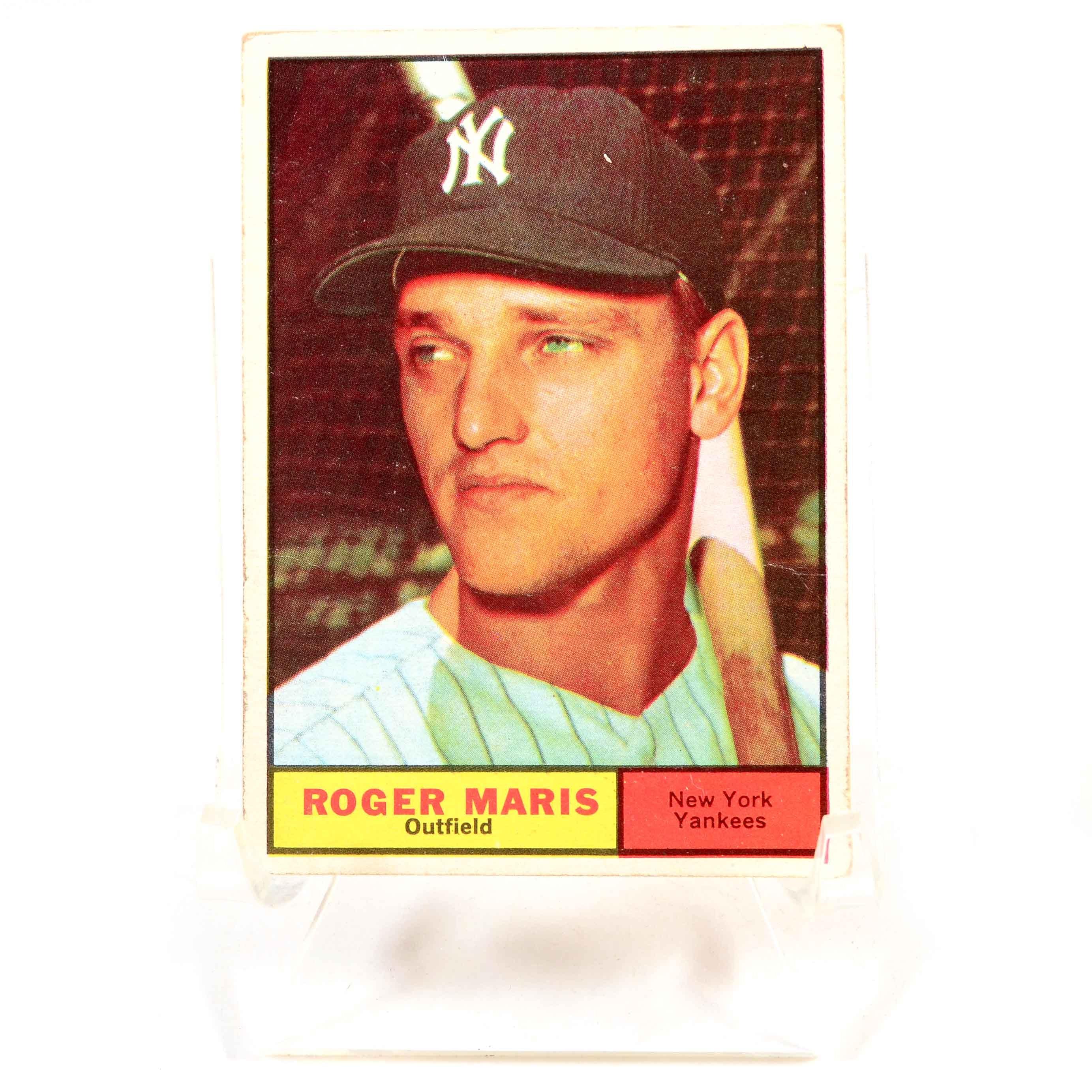 1961 Roger Maris Topps Baseball Card