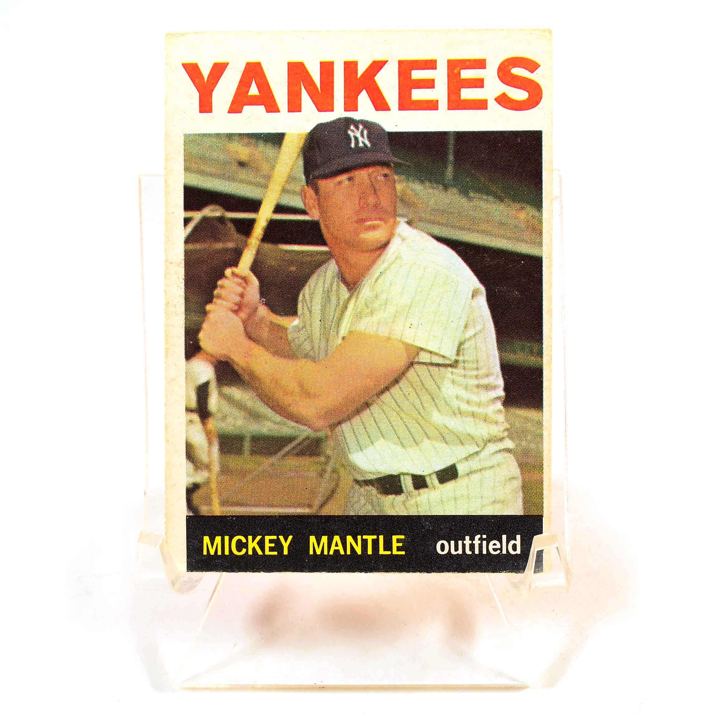 1964 Mickey Mantle Topps Card