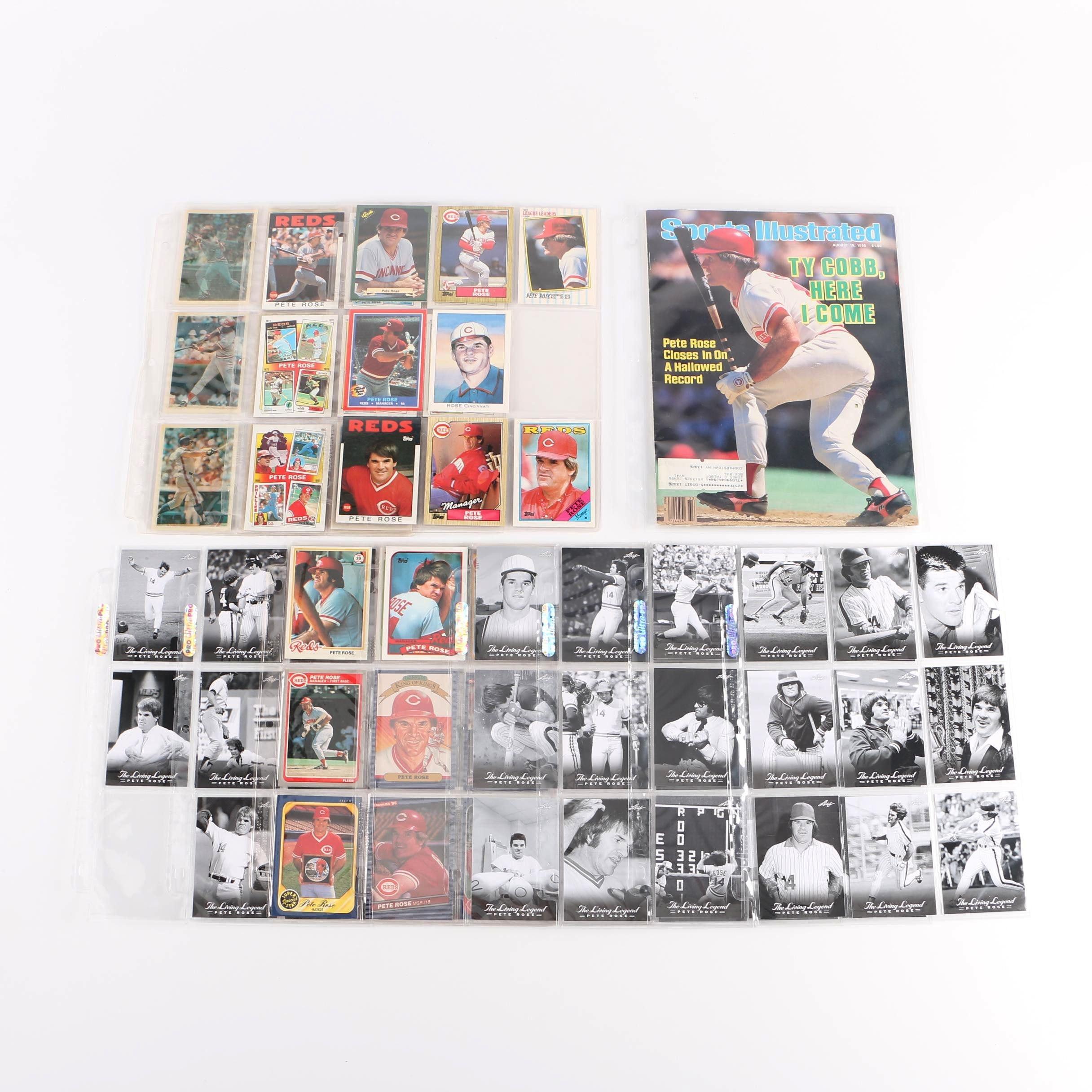 Collection of Pete Rose Memorabilia