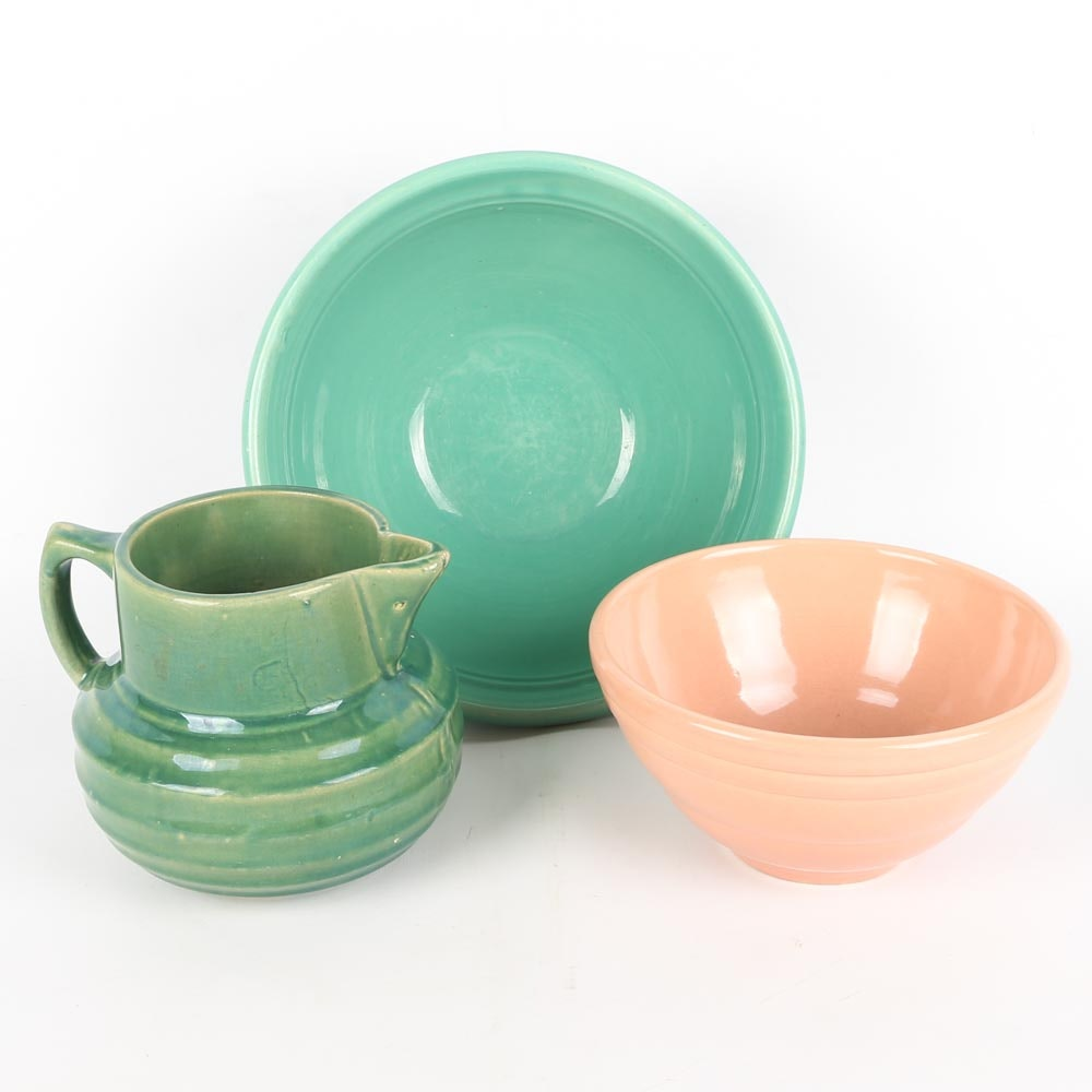 Vintage Kitchen Pottery Featuring McCoy