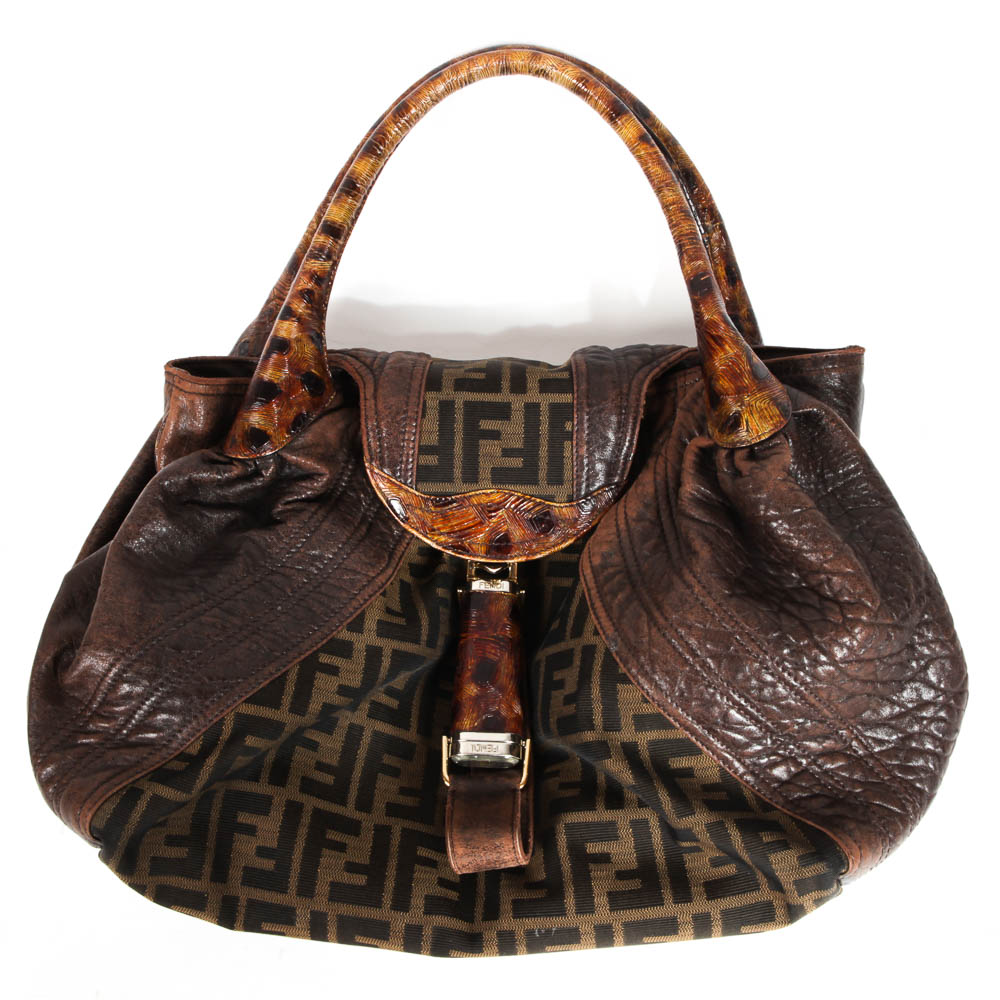 ... wholesale fendi zucca tortuga spy bag 8defe a61a6 ebay authentic fendi  zucca mini ... a40d330171082