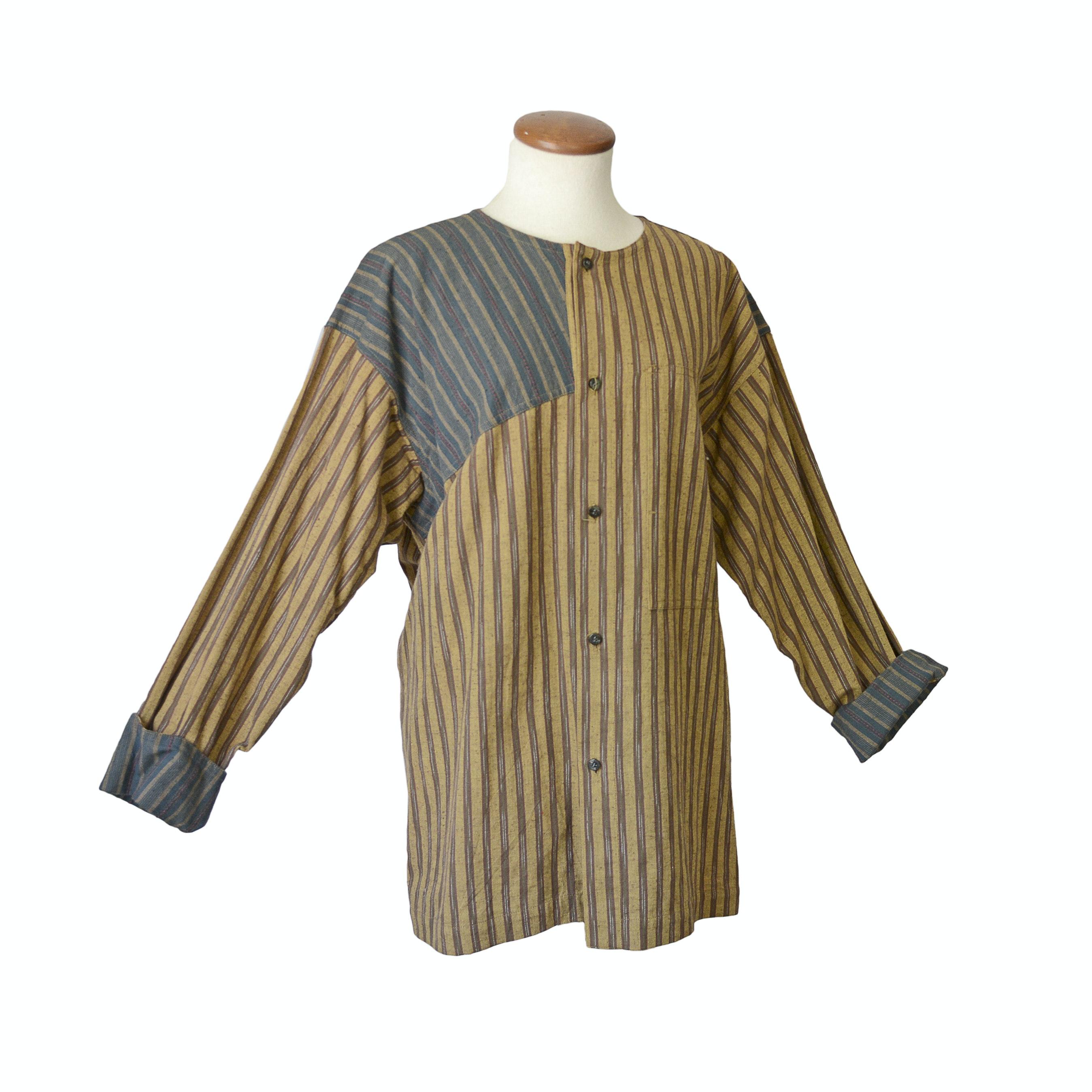 Issey Miyake Plantation Button Down Women's Shirt