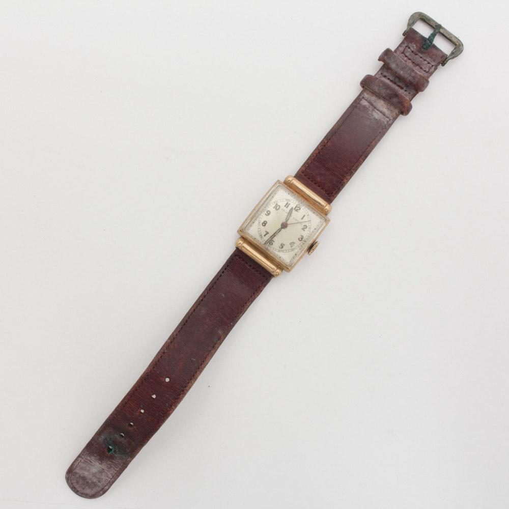 10K Yellow Gold Uninmex Wristwatch