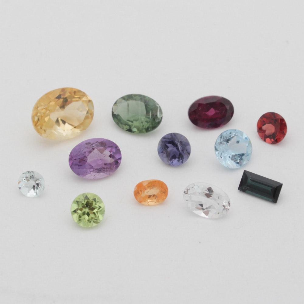 Mixed Loose Gemstone Assortment