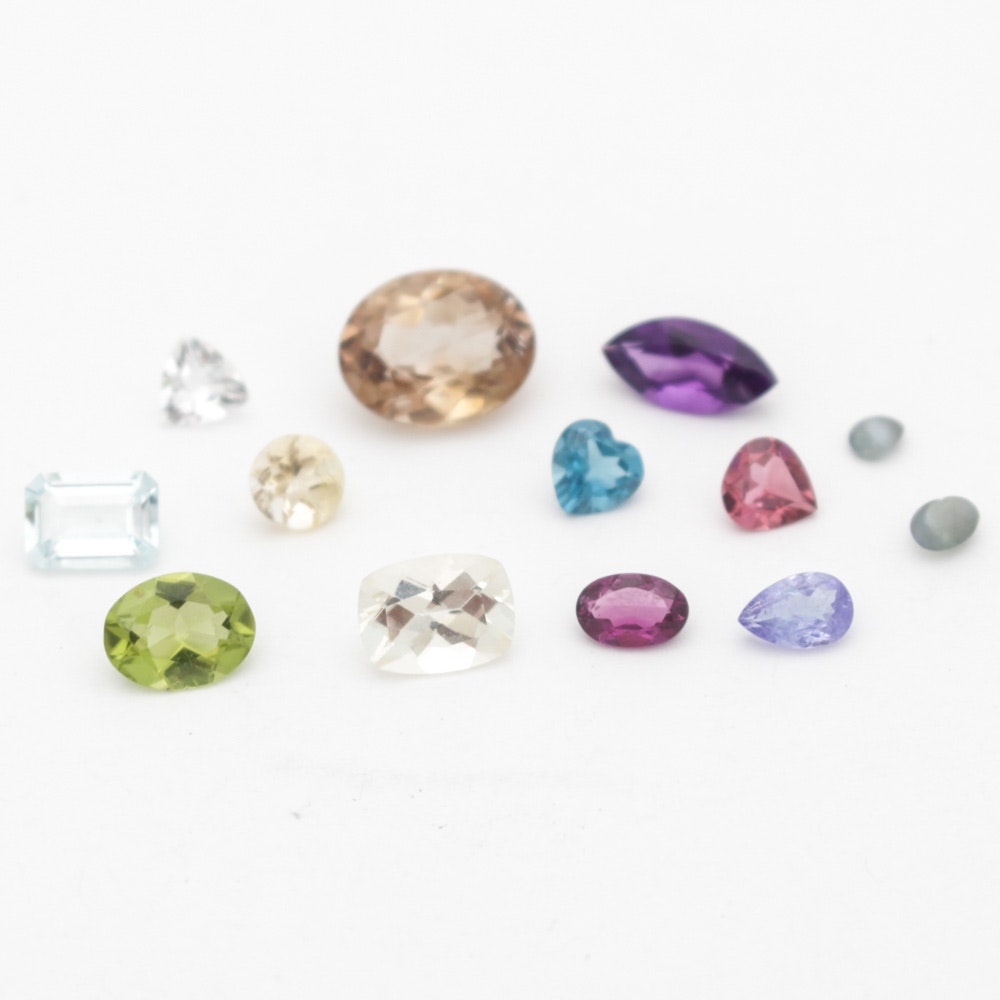 Collection of Mixed Gemstones