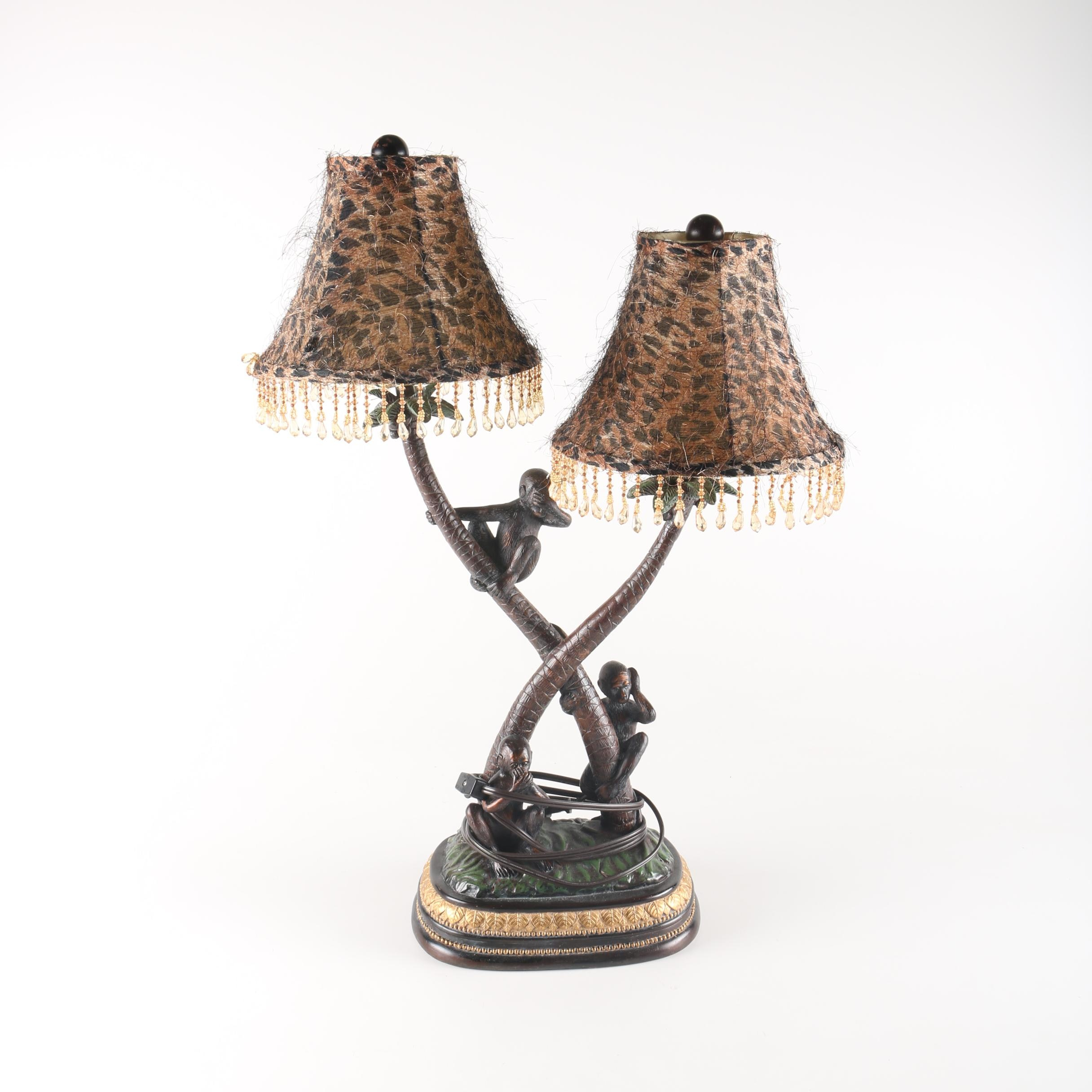 Three Wise Monkeys Lamp
