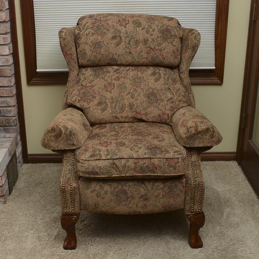 upholstered wingback recliner by leggett u0026 platt