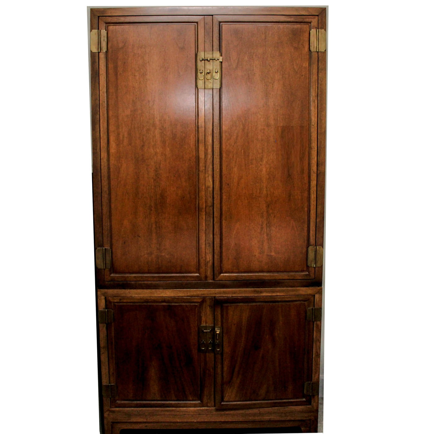 Large Baker Two Piece Armoire