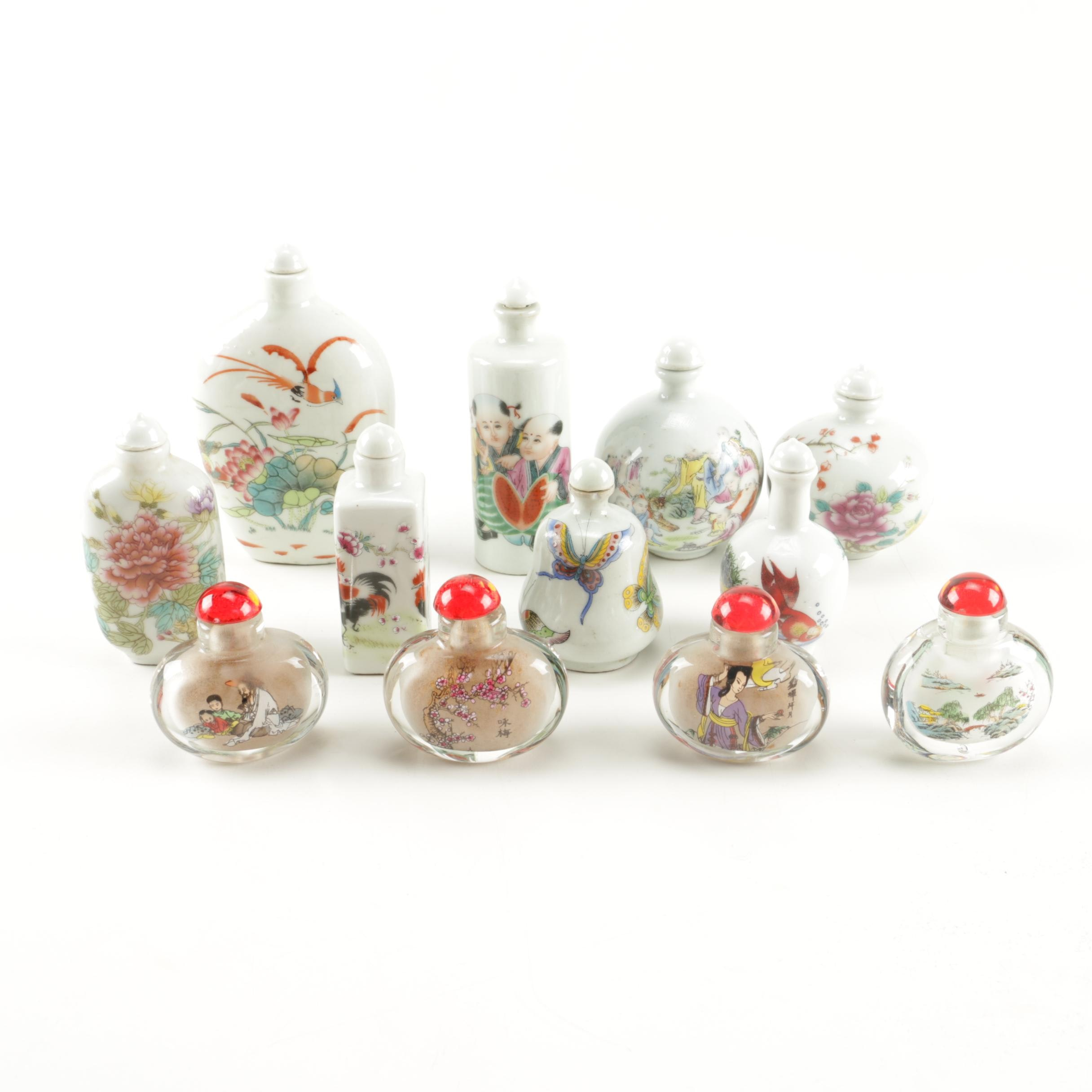 Chinese and Japanese Snuff Bottles