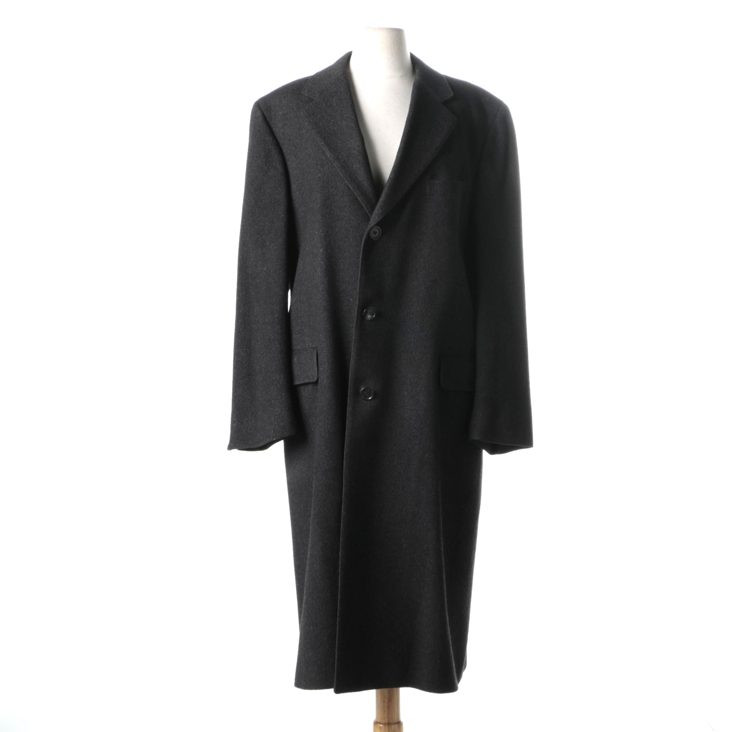 Mark Shale Men's Cashmere Coat