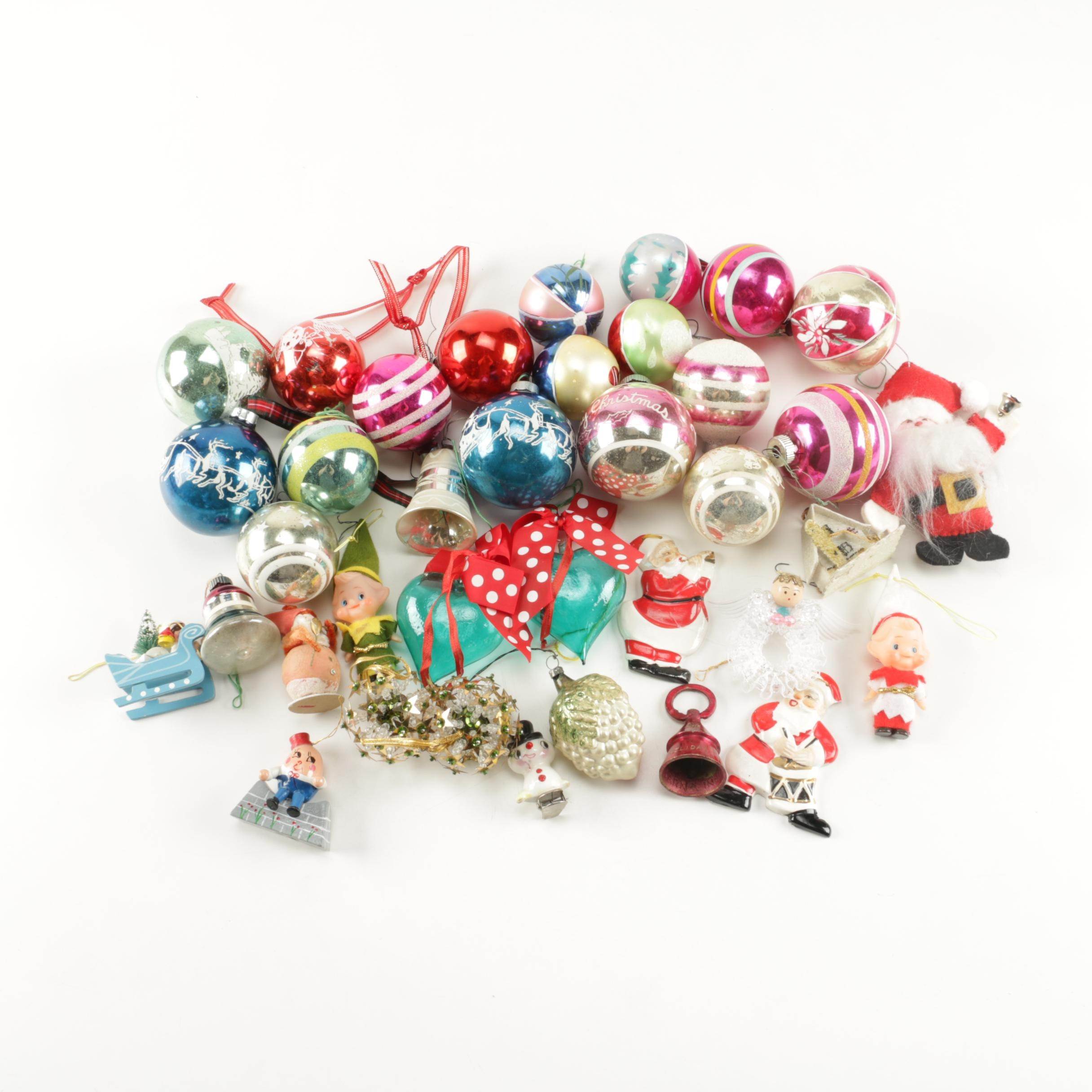 Christmas Balls and Other Ornaments