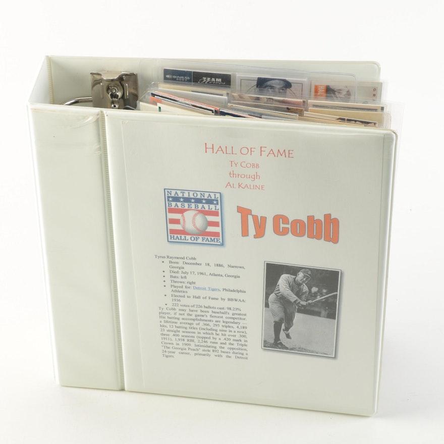 Vintage Detroit Tigers Baseball Cards and Memorabilia