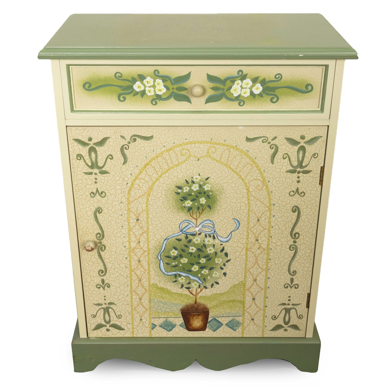 Contemporary Painted Side Cabinet
