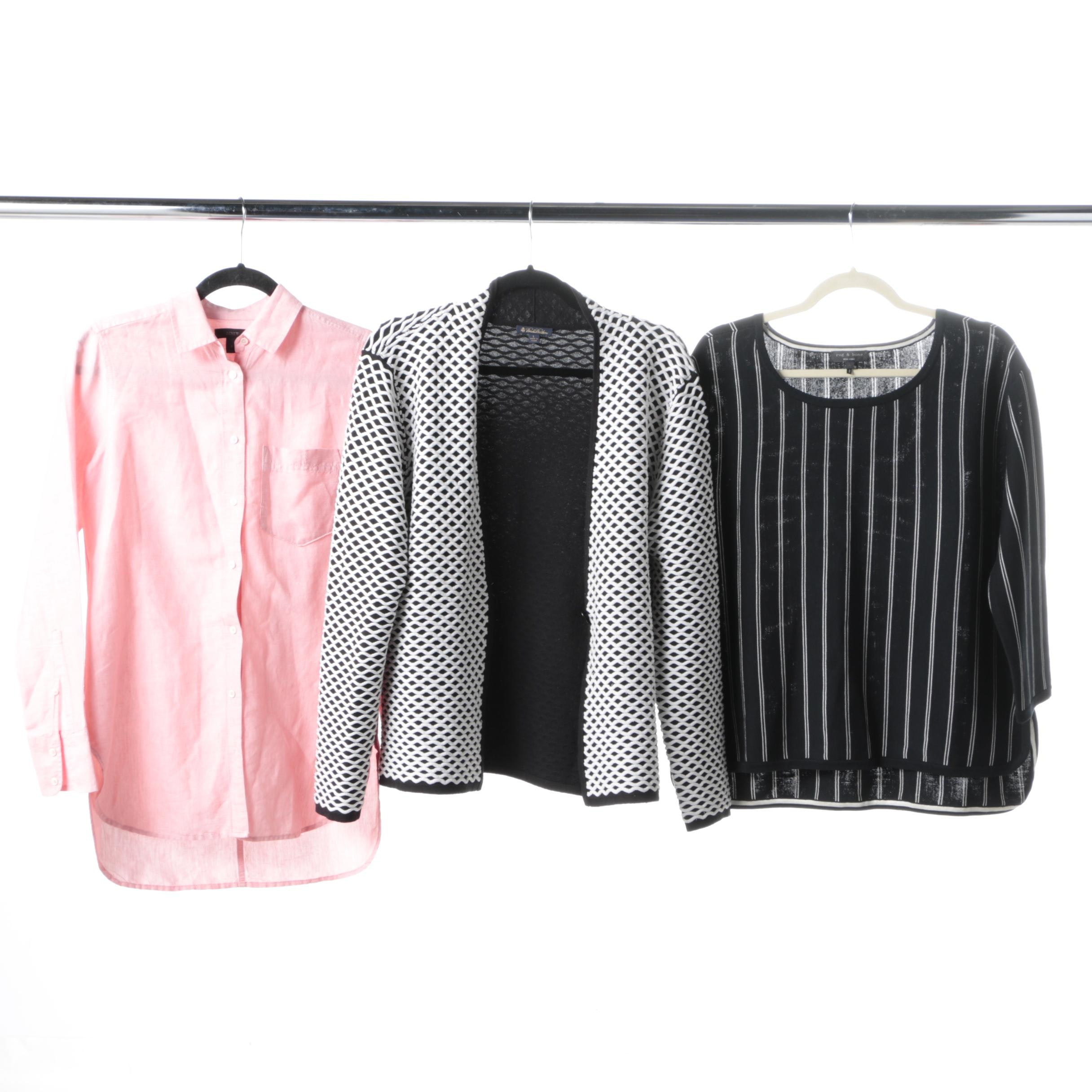 Women's Designer Clothing Including Rag & Bone and Brooks Brothers