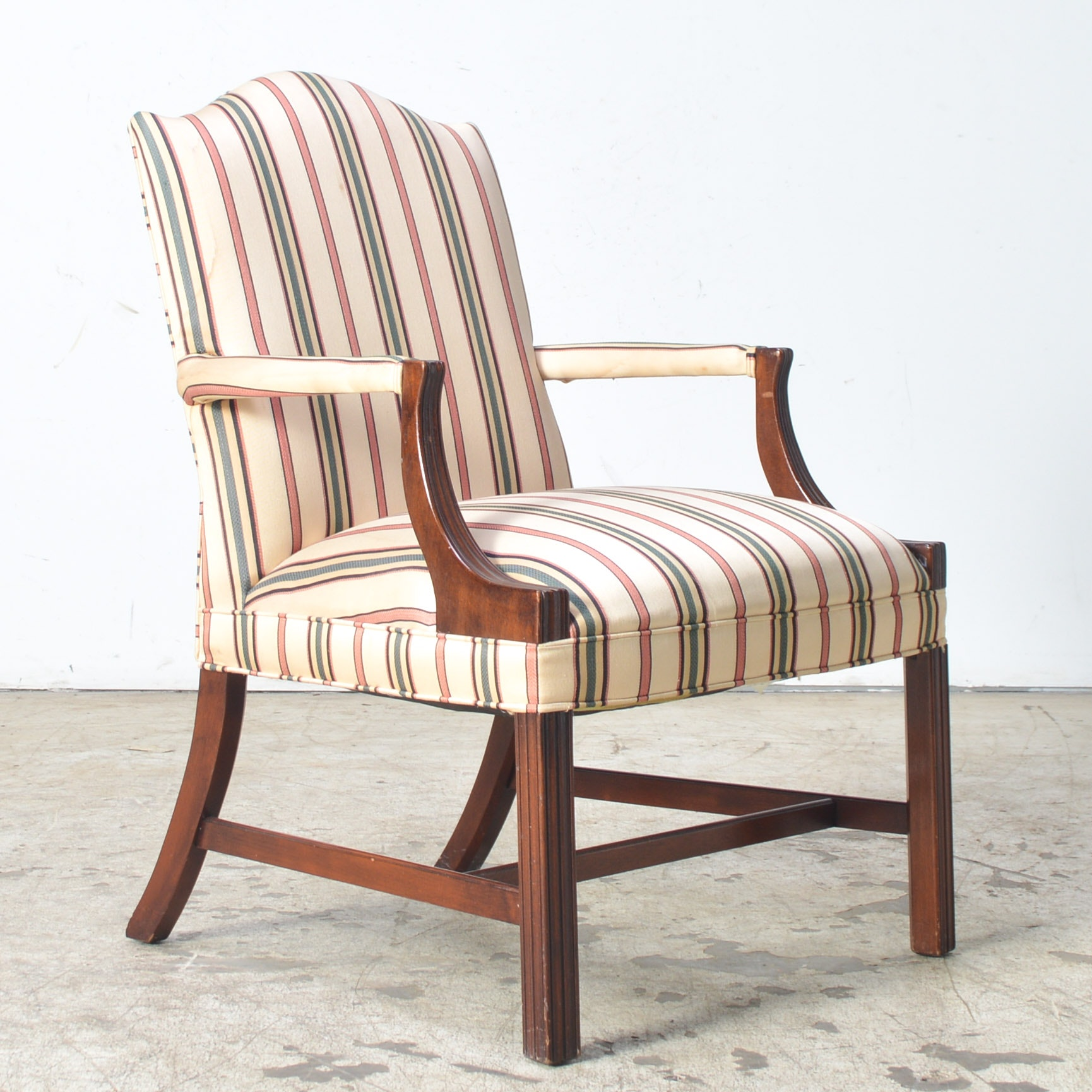 Hein Smith Upholstered Arm Chair