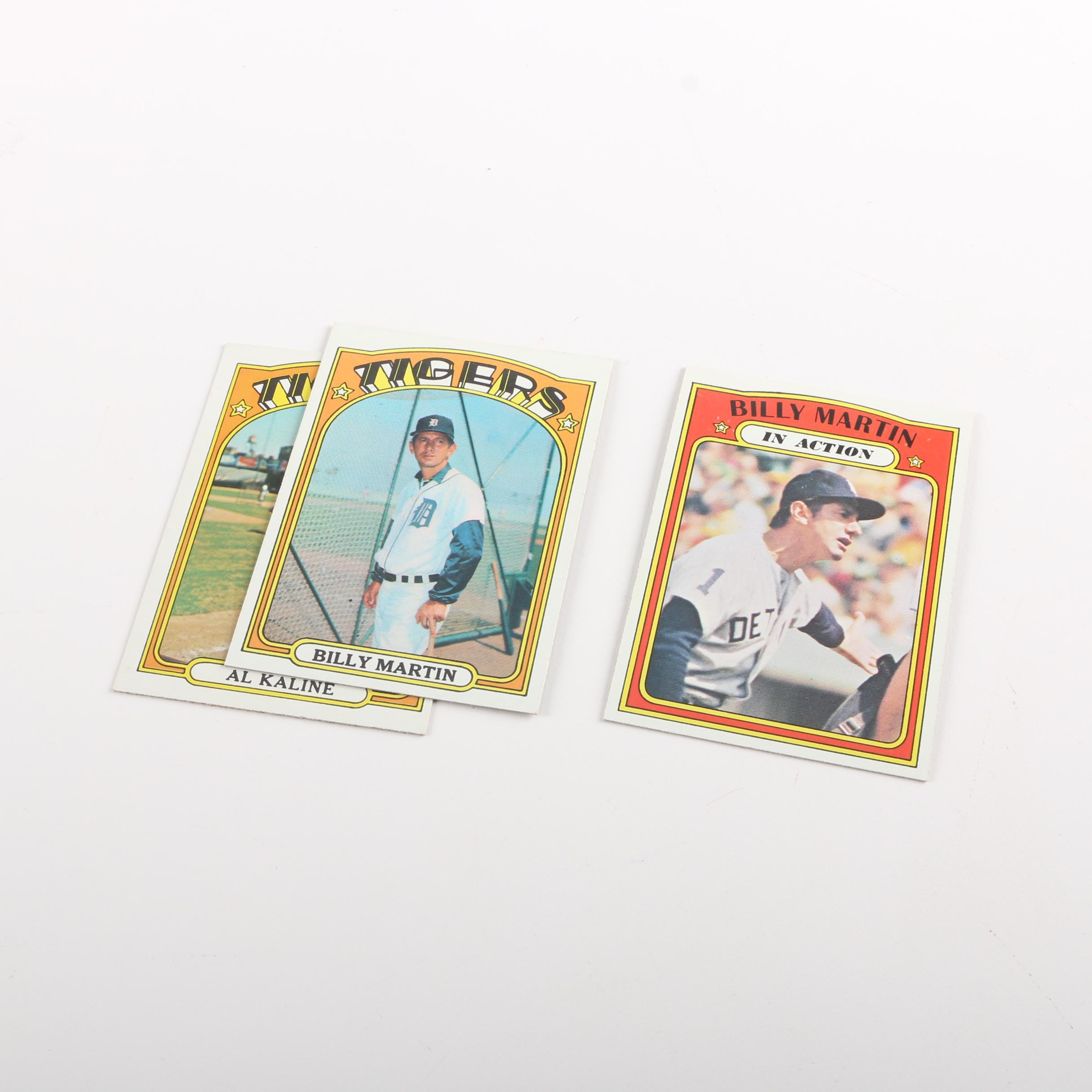 Vintage Detroit Tigers Baseball Cards
