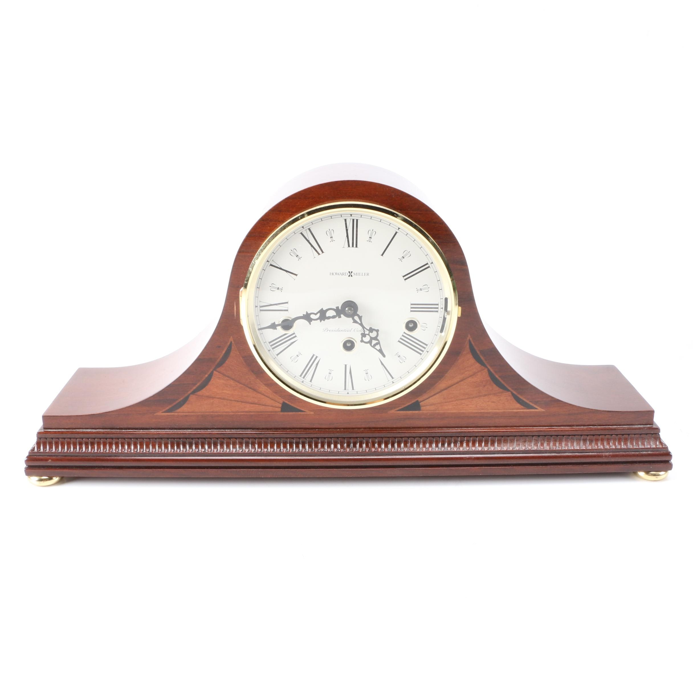 Howard Miller Wooden Mantel Clock