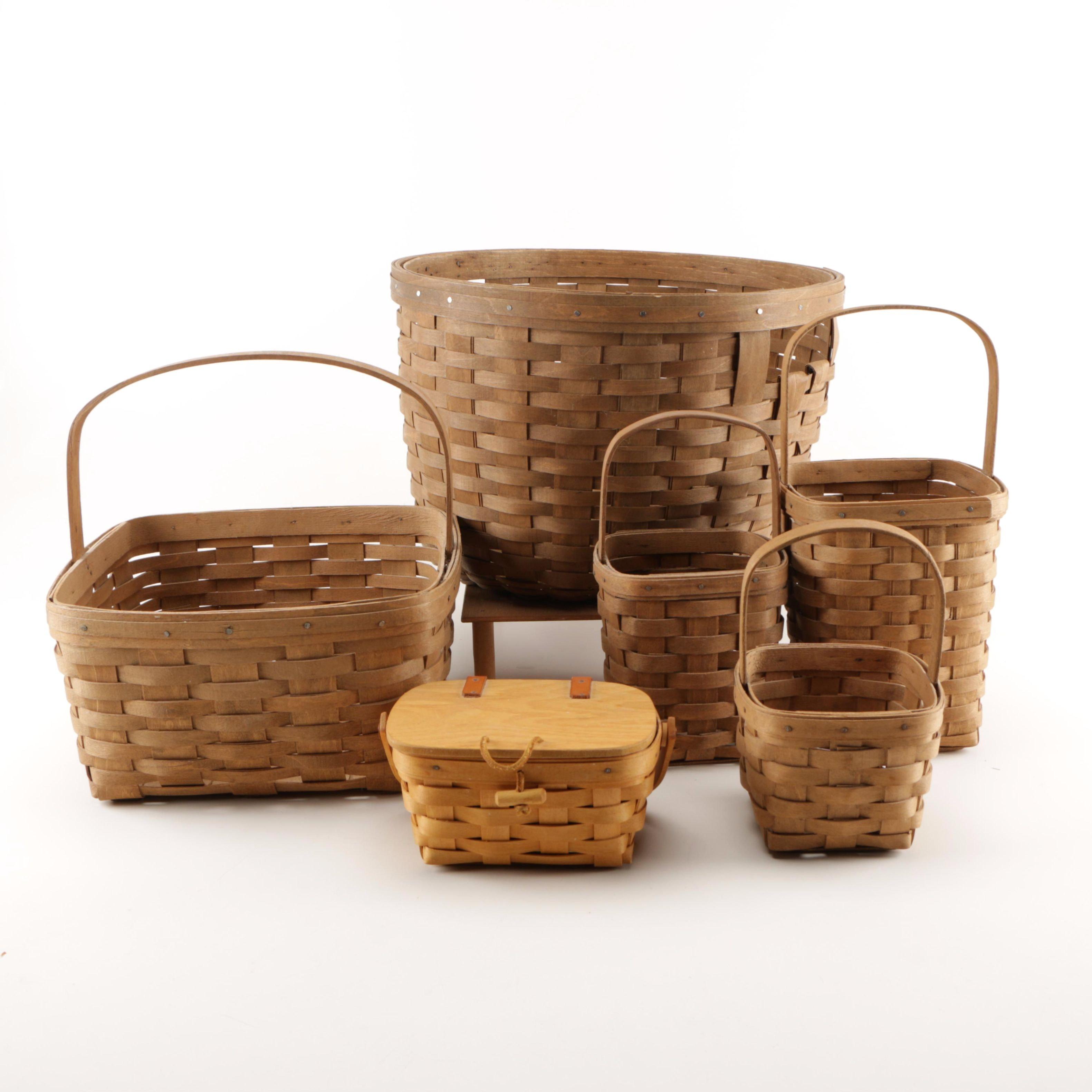 Longaberger Handwoven Baskets