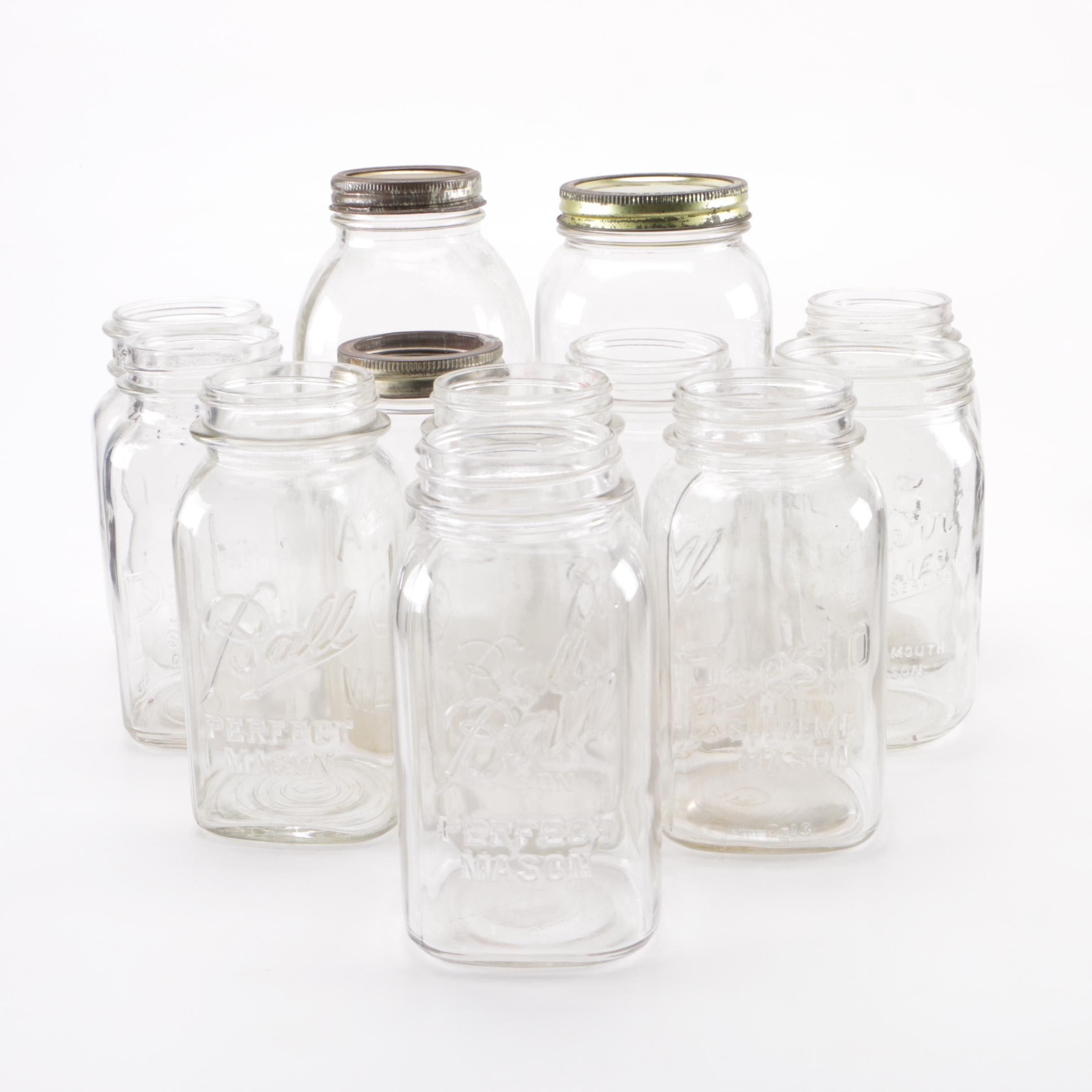 Glass Mason Jar Collection