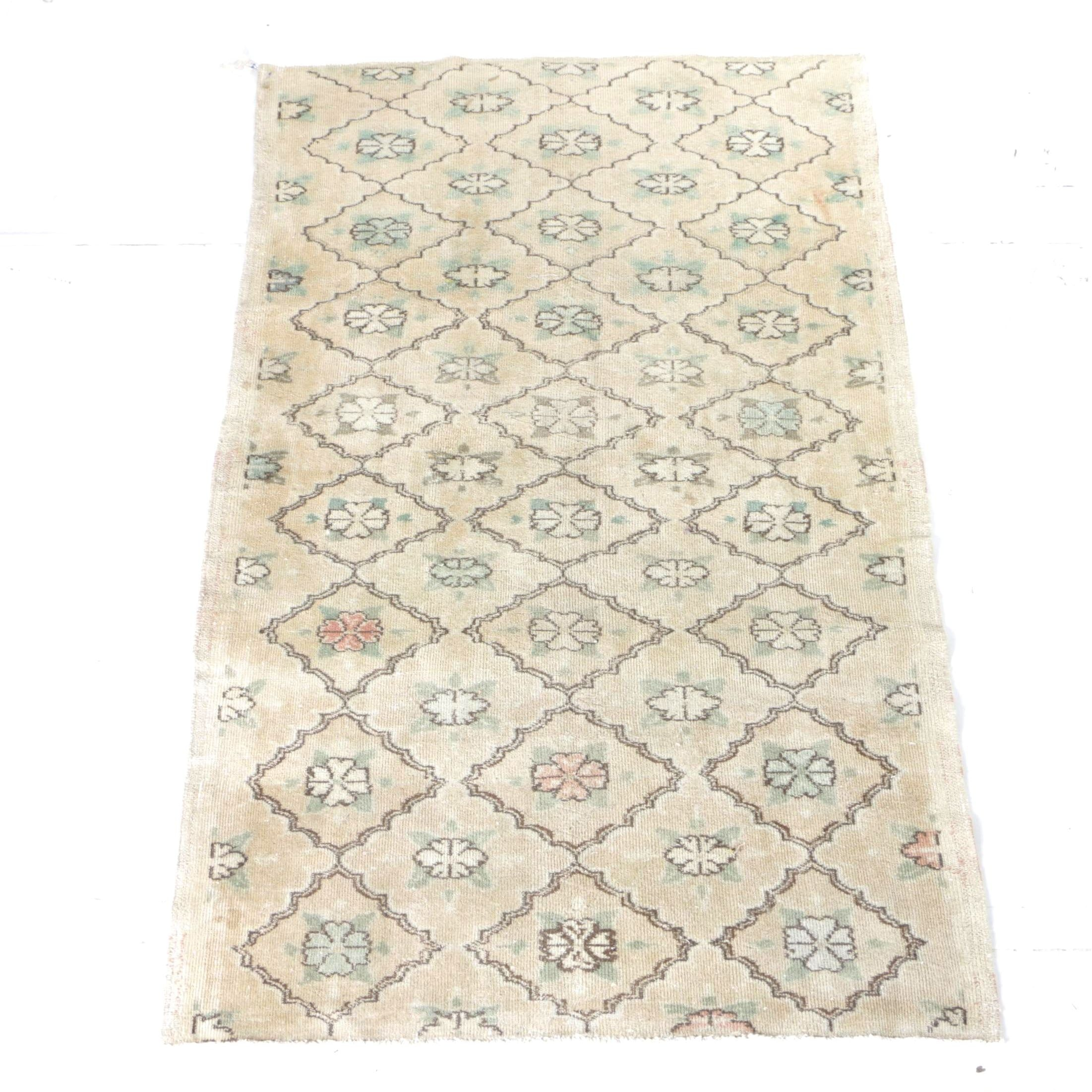 Hand-Knotted Turkish Sparta Area Rug