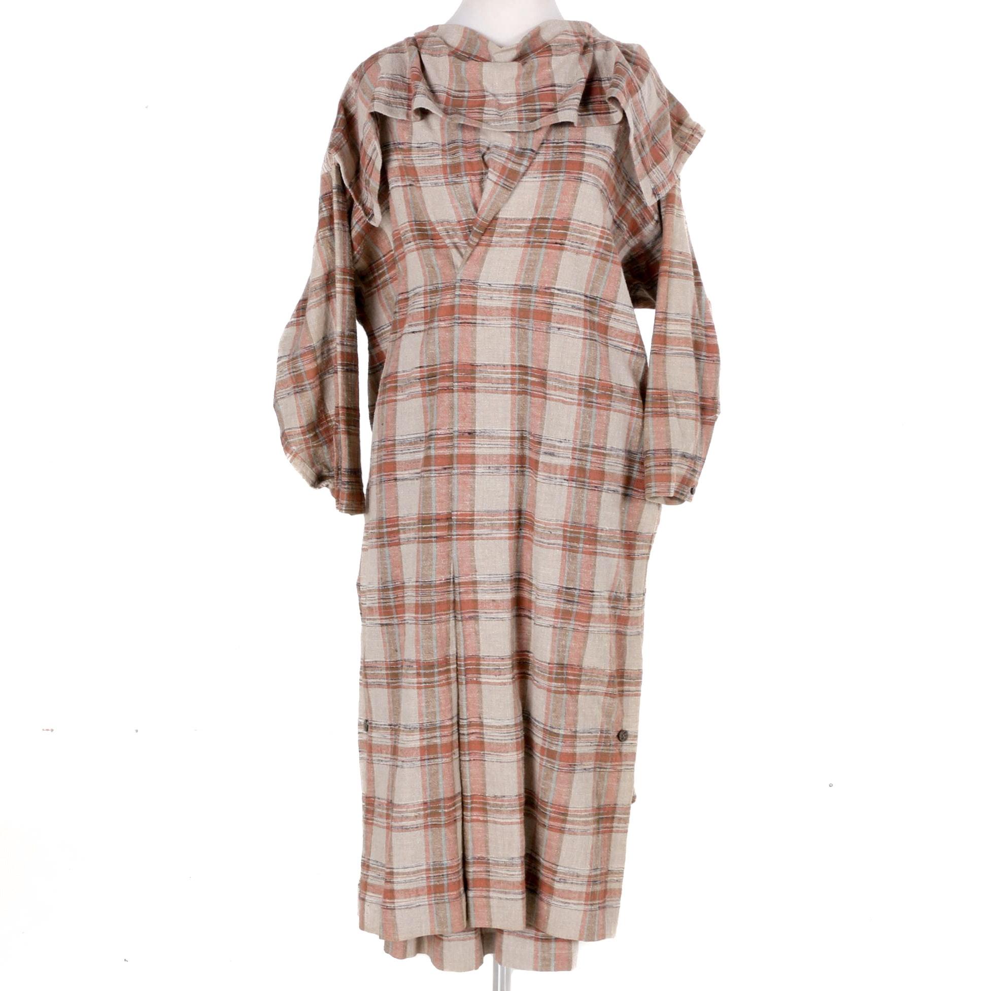 Issey Miyake Plantation Tunic Dress and Skirt