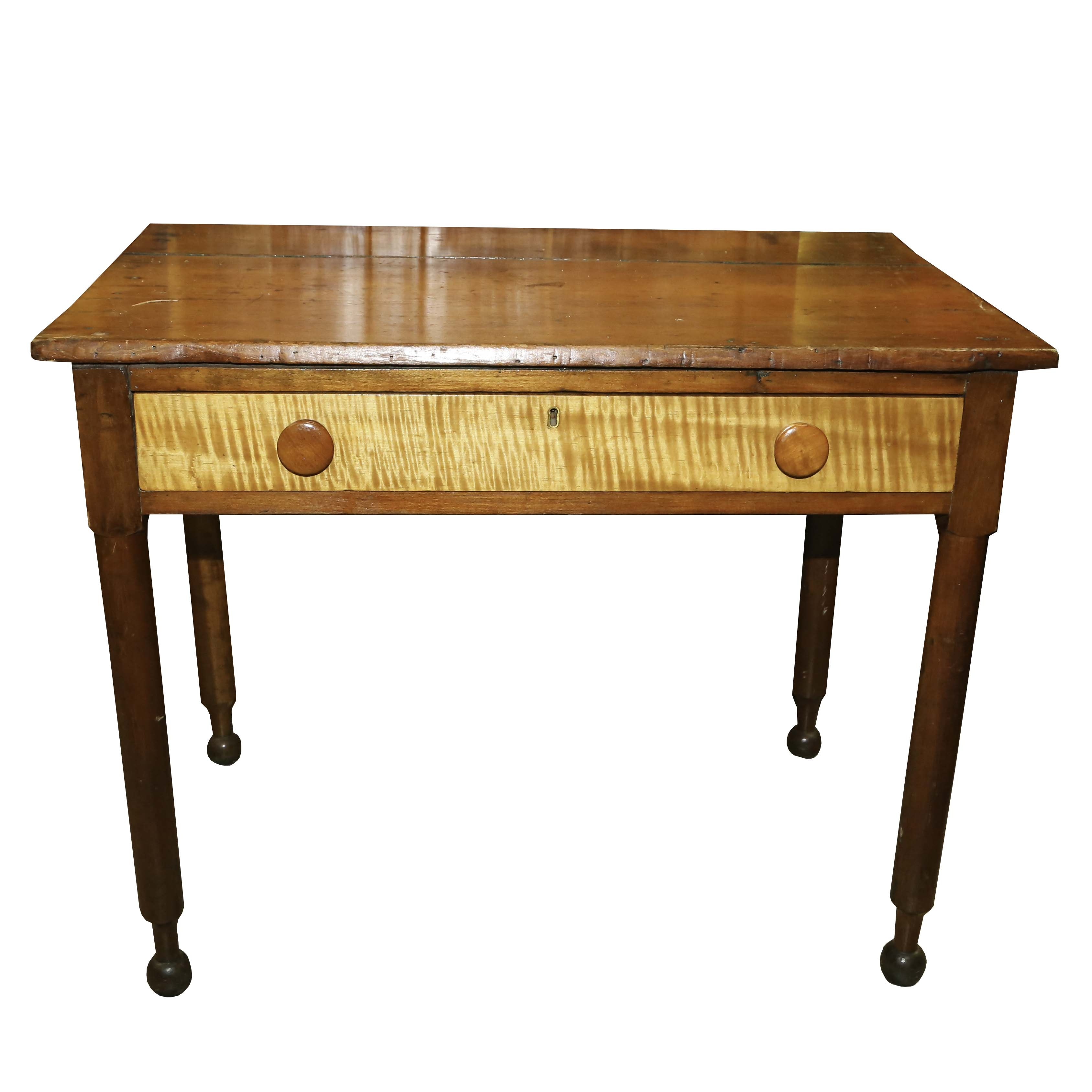 Vintage Pine Writing Desk
