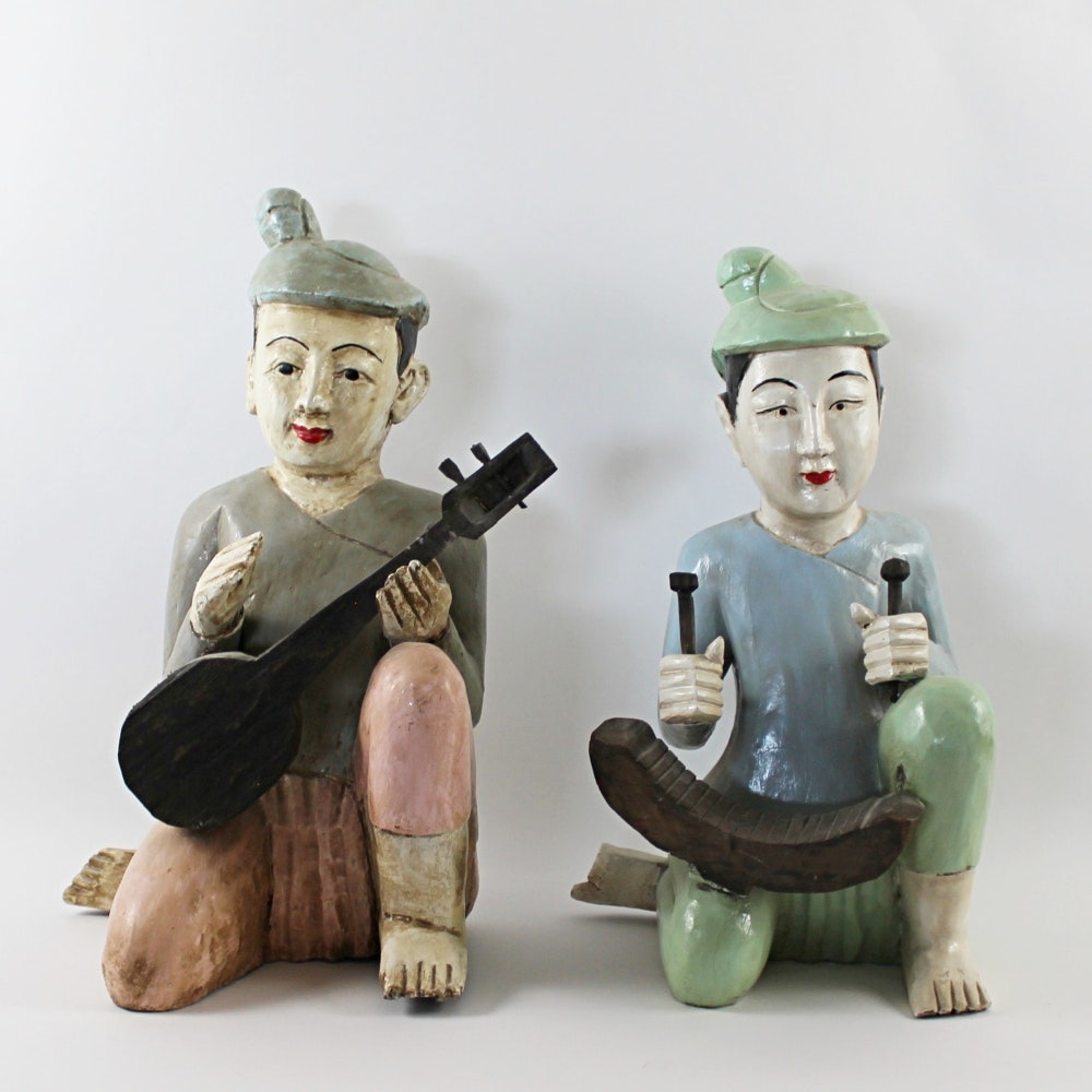 Large Southeast Asian Figurines