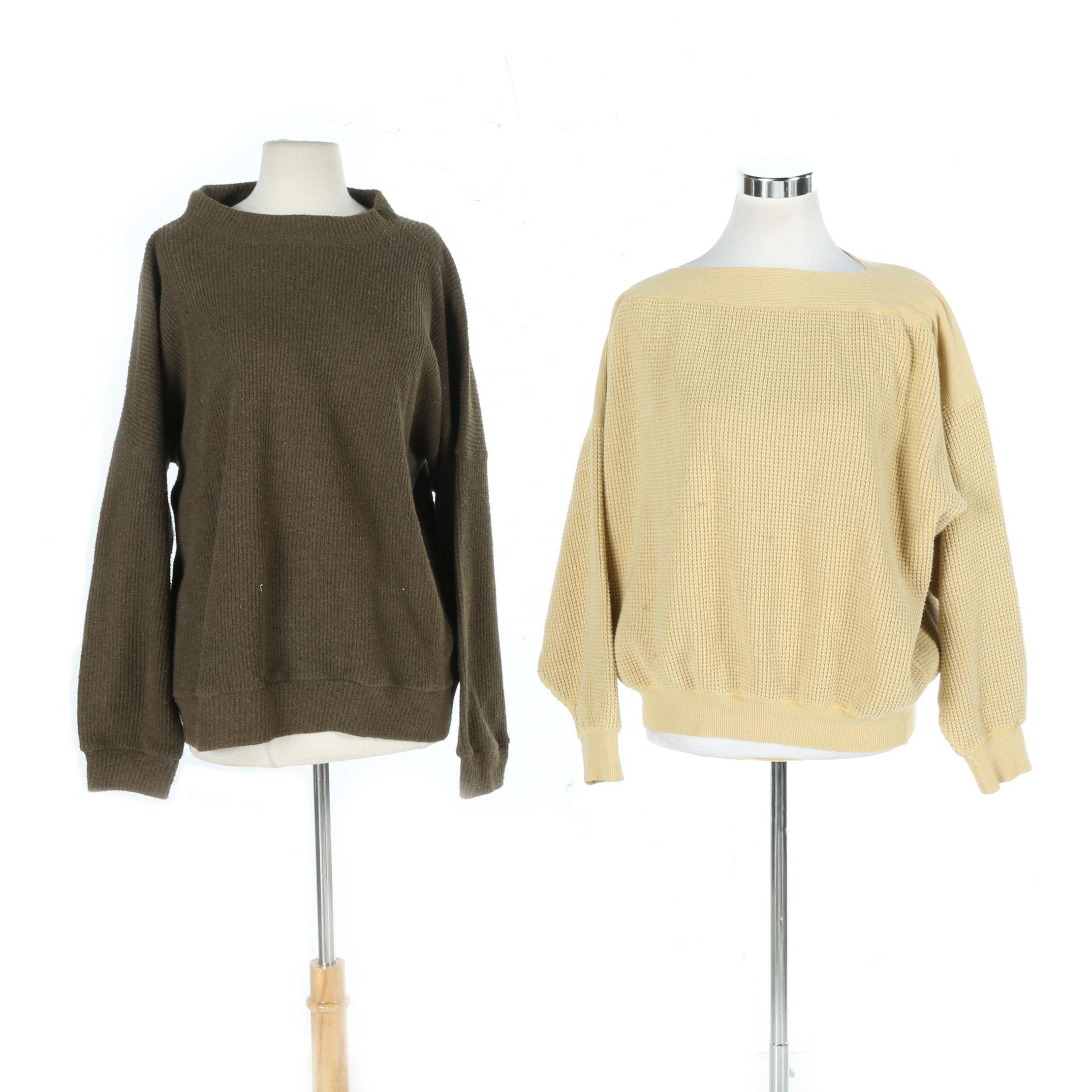 Issey Miyake Plantation Sweaters