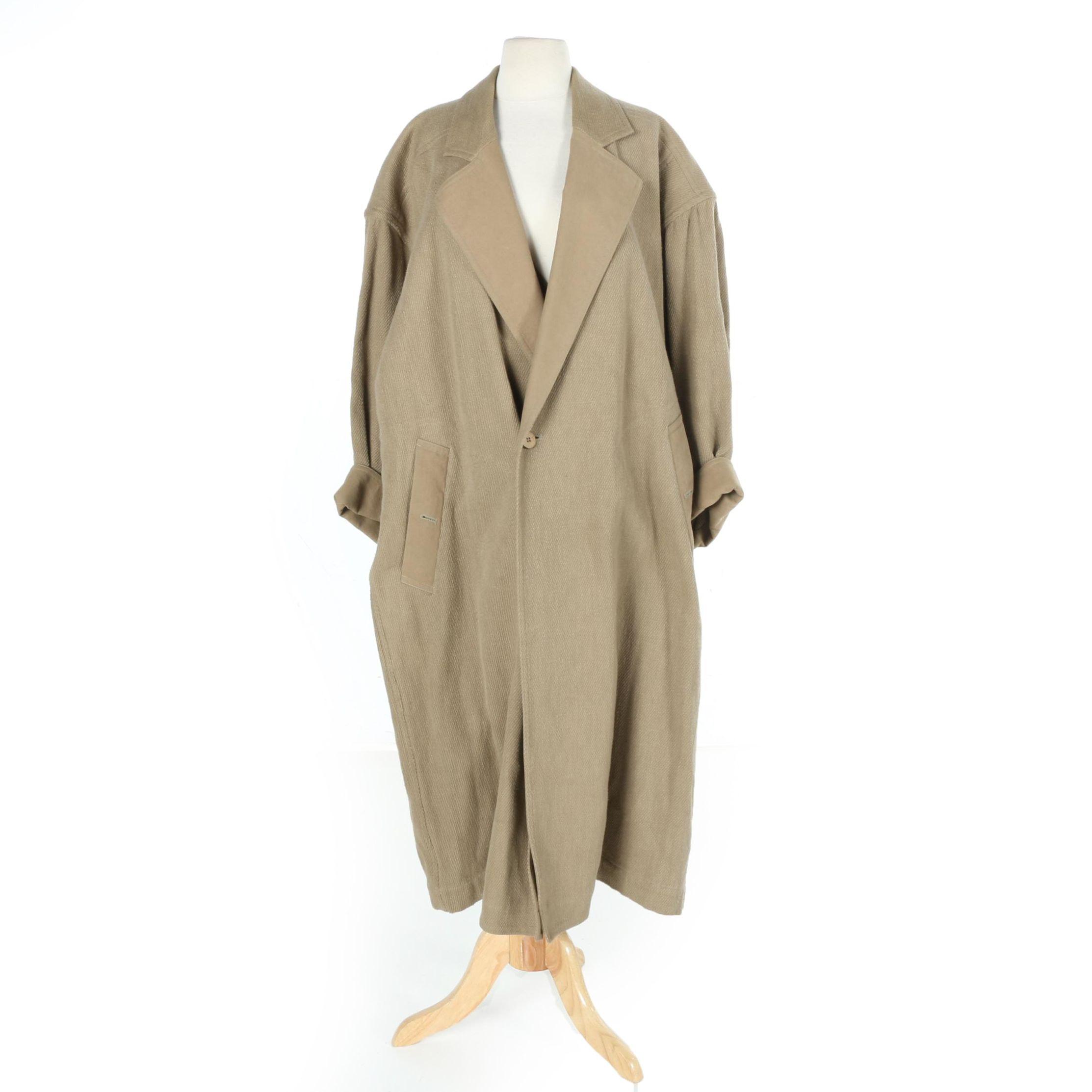 """Issey Miyake """"Plantation"""" Trench Coat"""