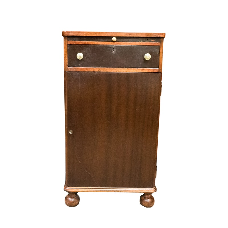 Vintage Cocktail Cabinet with Pull Out Tray